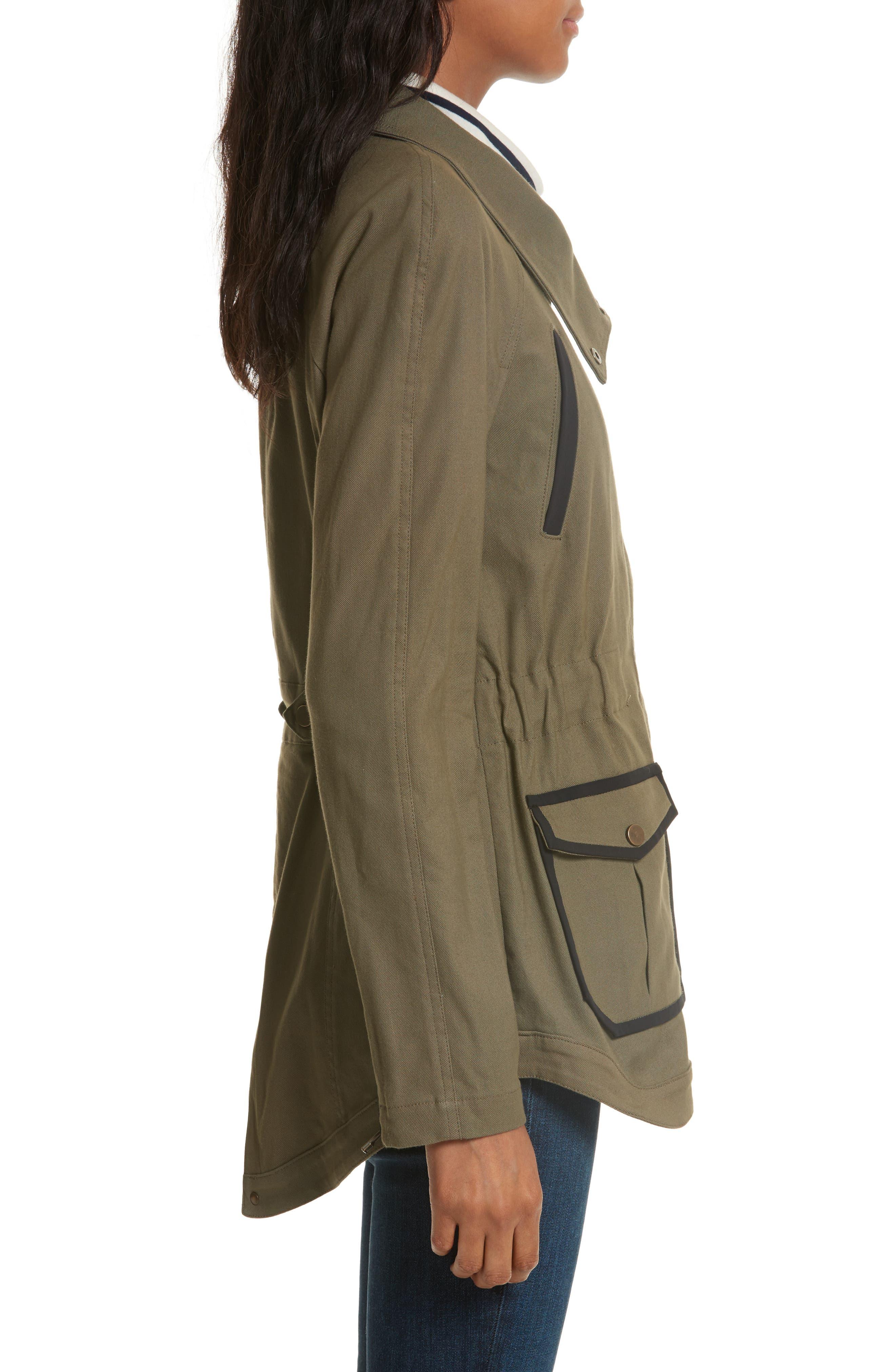 Army Jacket,                             Alternate thumbnail 3, color,                             Army Green