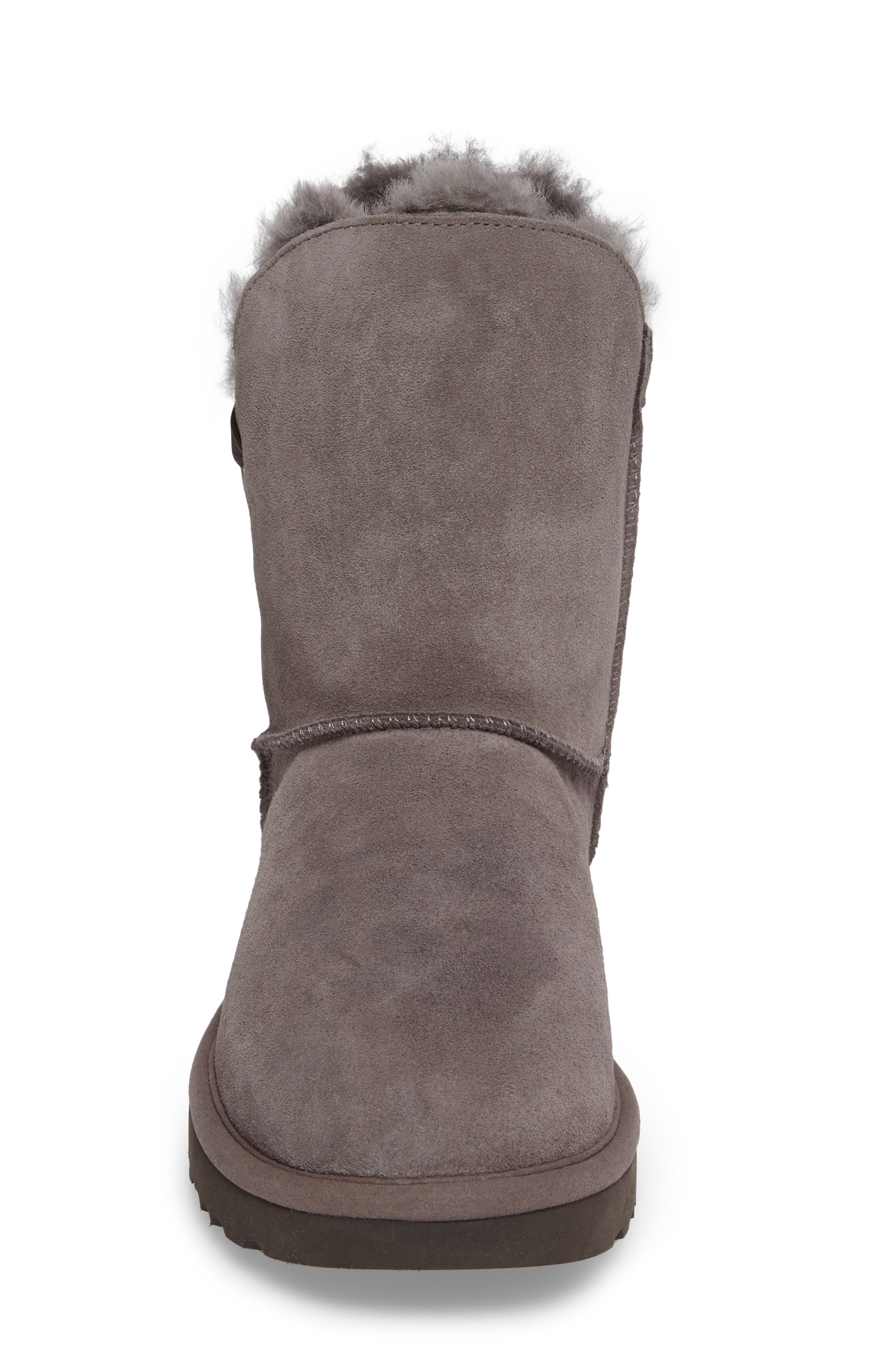 Constantine Boot,                             Alternate thumbnail 5, color,                             Charcoal Suede
