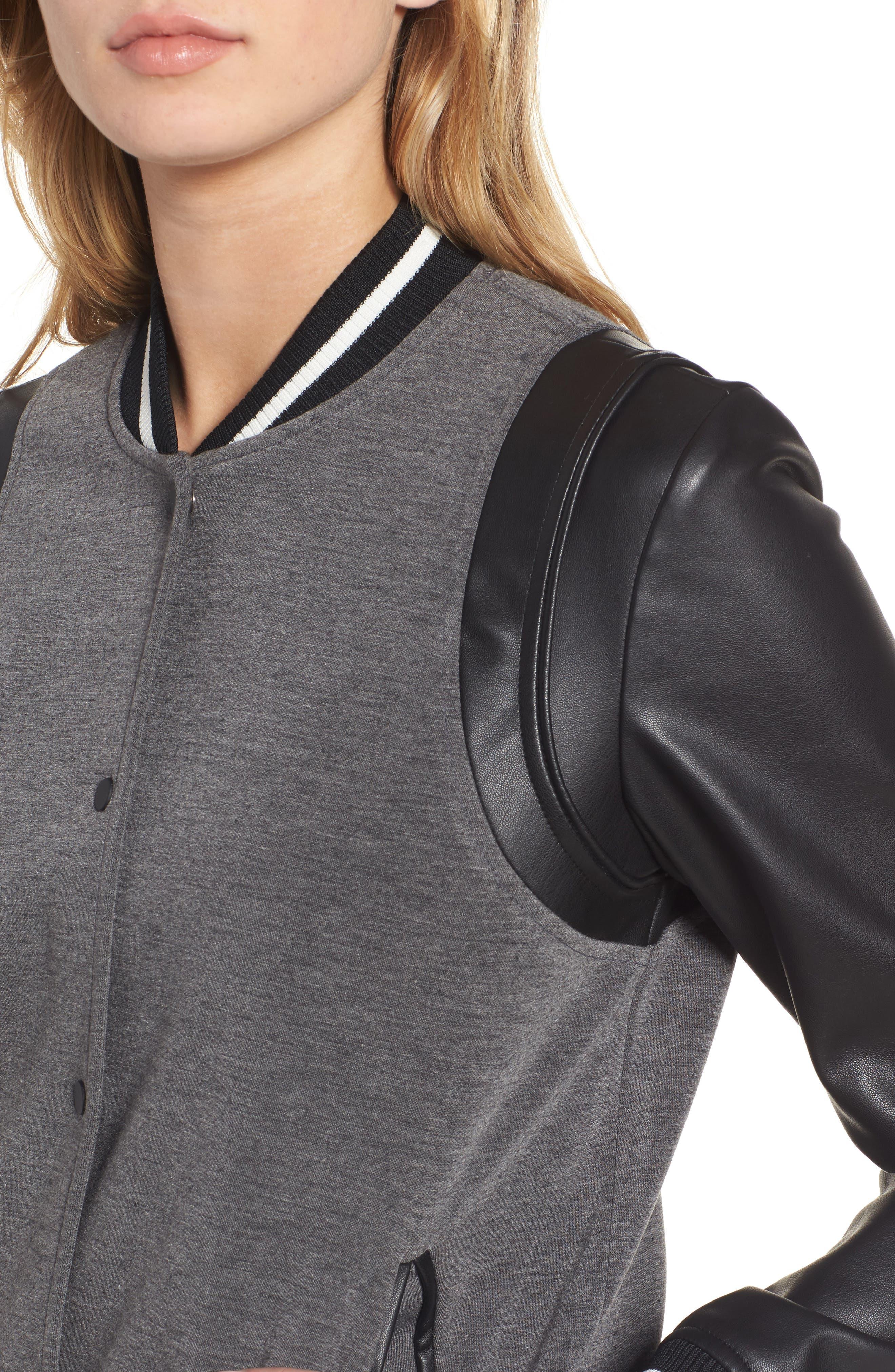 Alternate Image 5  - Trouvé Varsity Jacket