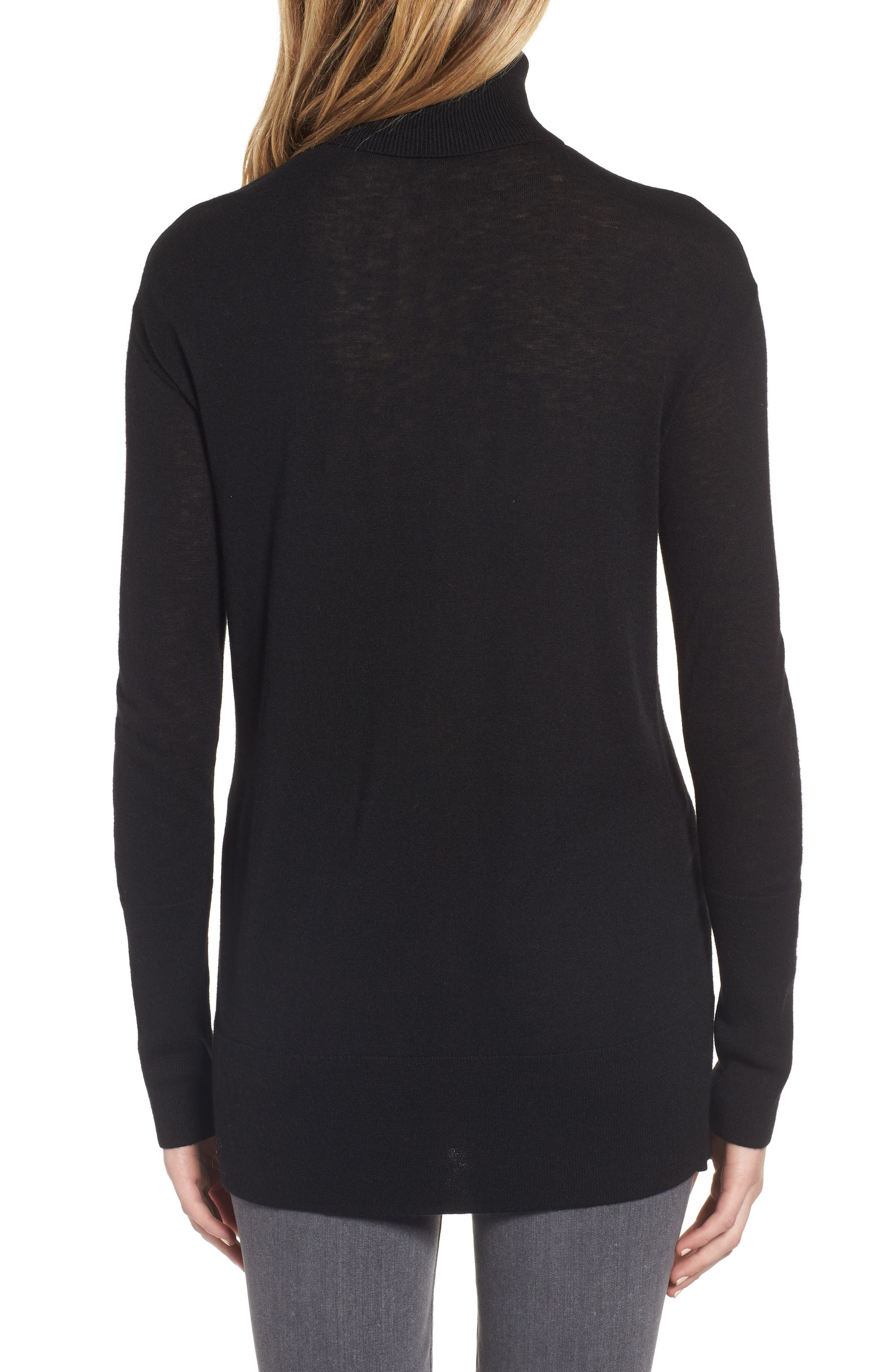 Alternate Image 2  - Trouvé Choker Turtleneck Sweater