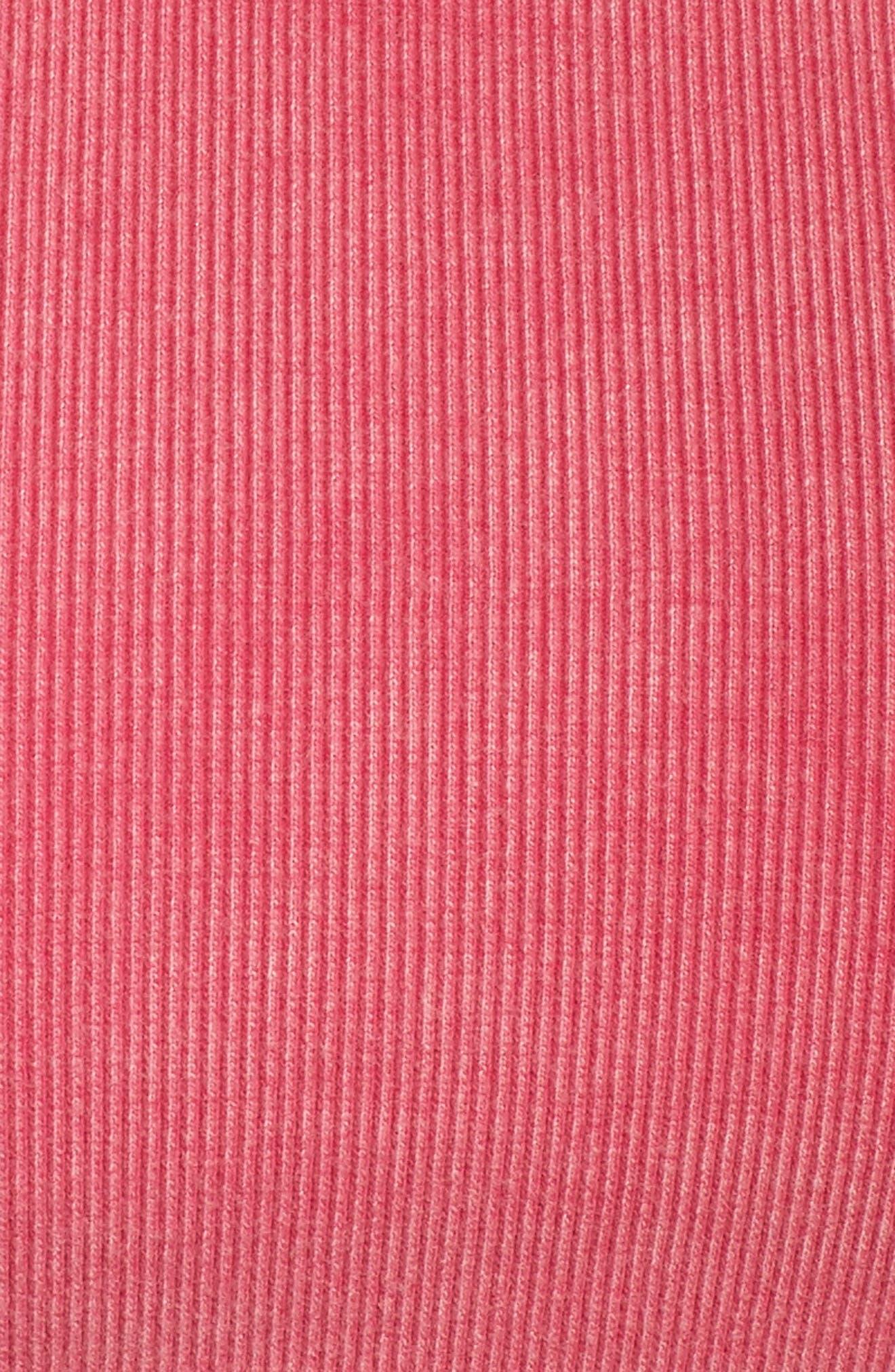 FP Movement Lua Ribbed Bra,                             Alternate thumbnail 6, color,                             Pink