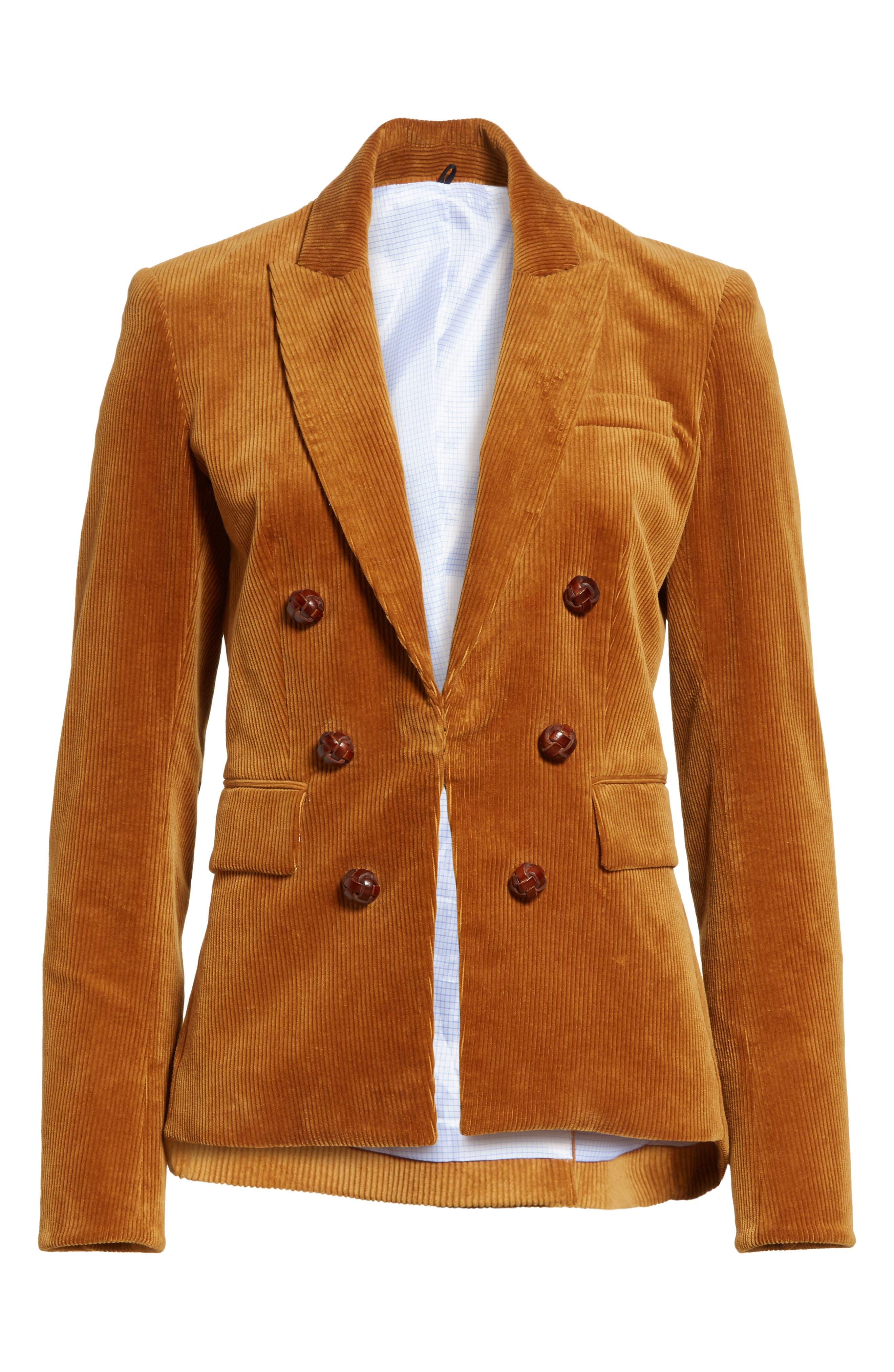Alternate Image 7  - Veronica Beard Cliff Corduroy Cutaway Jacket