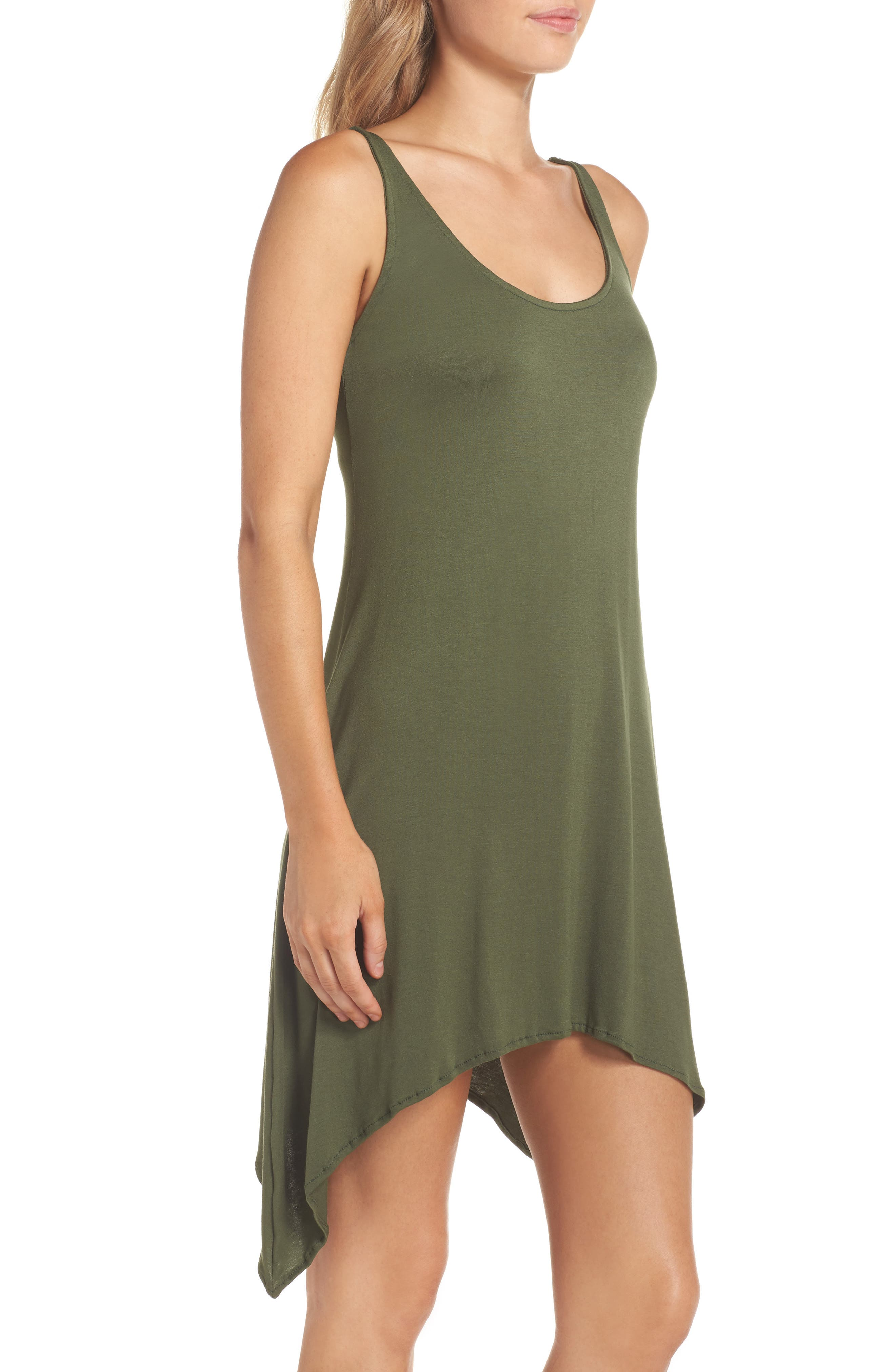 Alternate Image 3  - Lucky Brand Take Cover Cover-Up Dress