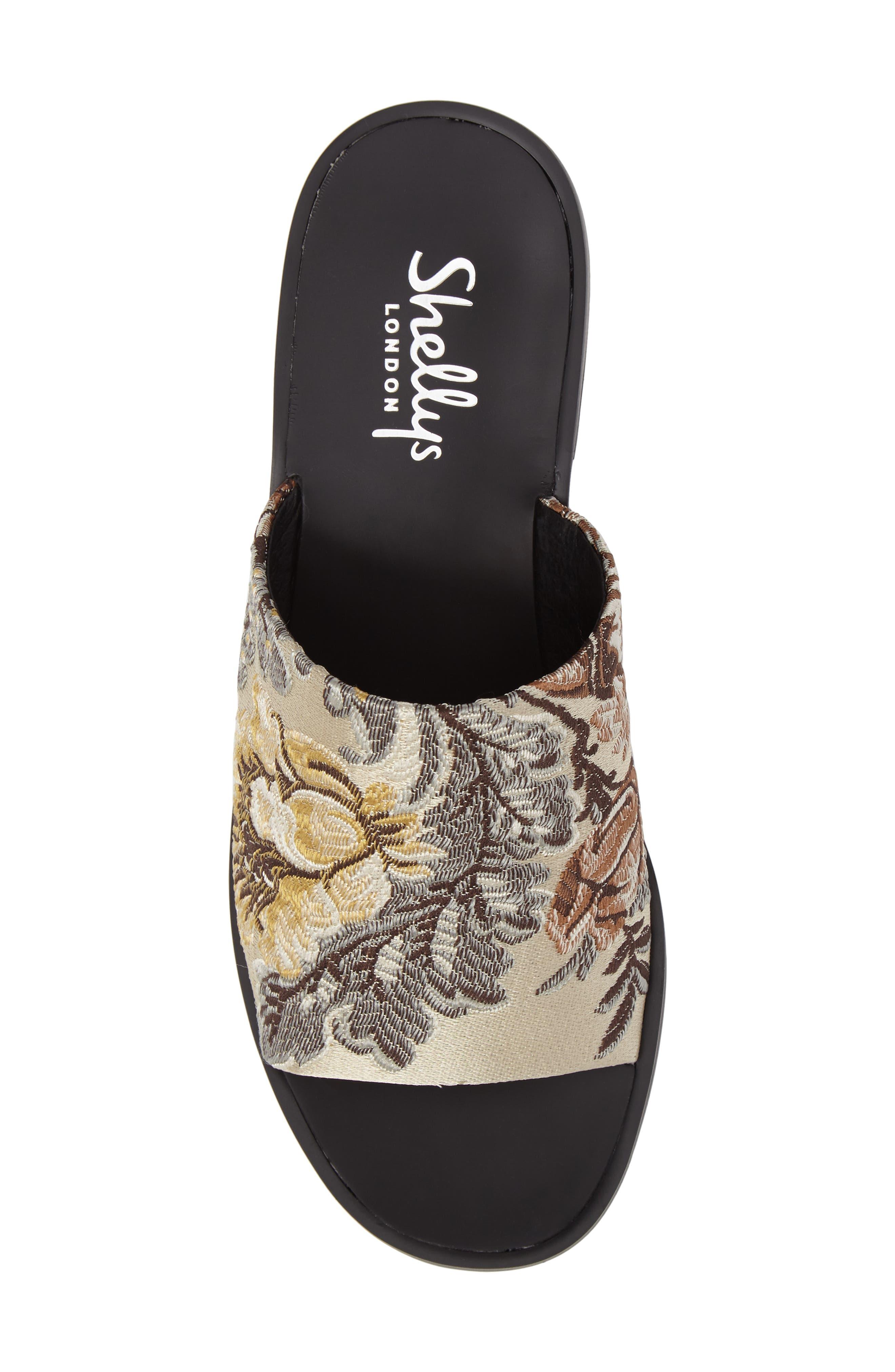 Alternate Image 5  - Shellys London Enya Brocade Slide Sandal (Women)