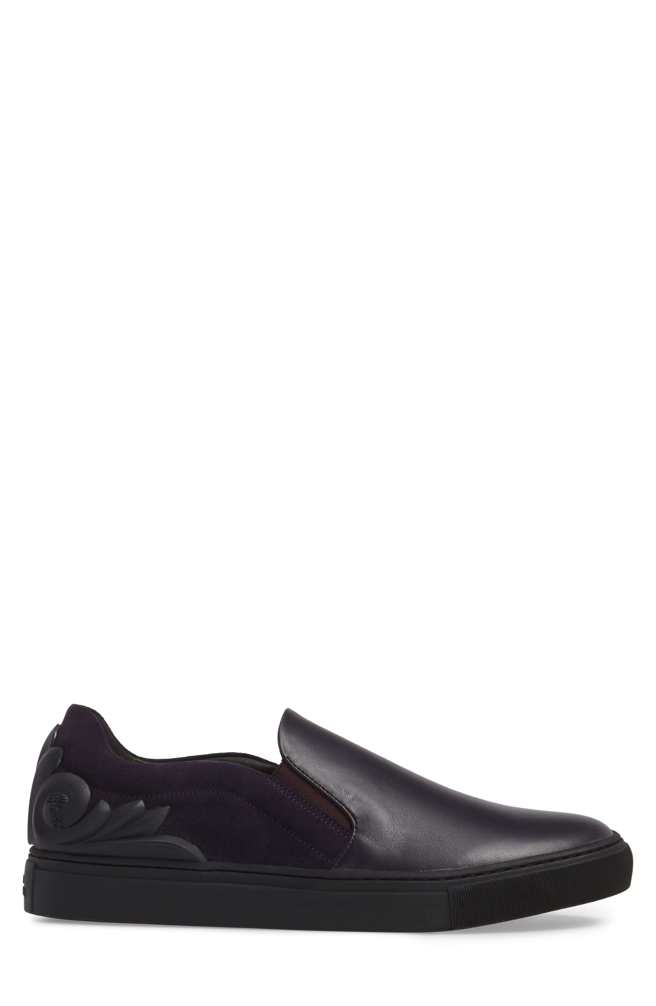 Collection Baroque Slip-On,                             Alternate thumbnail 3, color,                             Must/ Nikel Leather