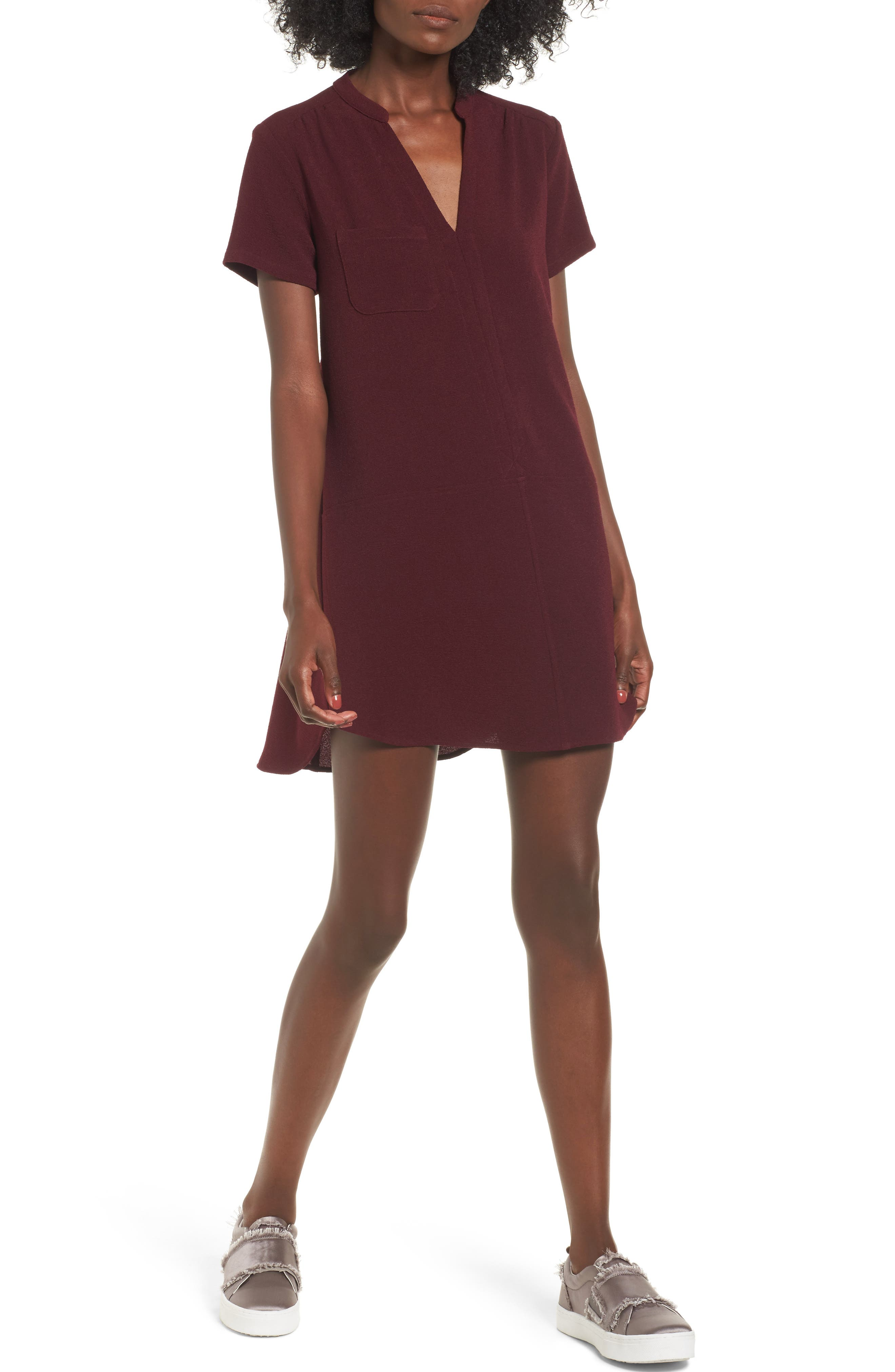 Hailey Crepe Dress