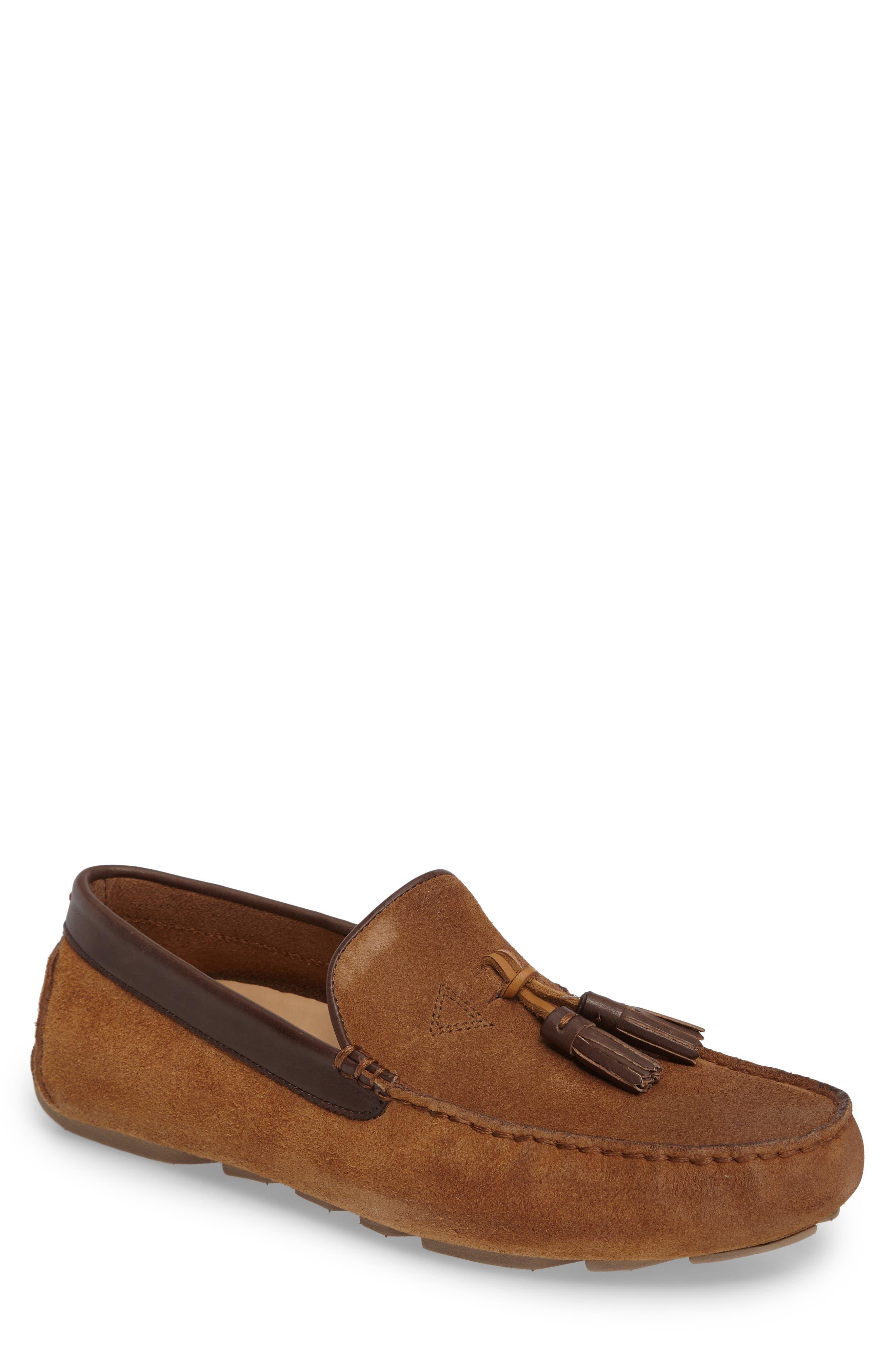 Marris Driving Shoe,                         Main,                         color, Chestnut