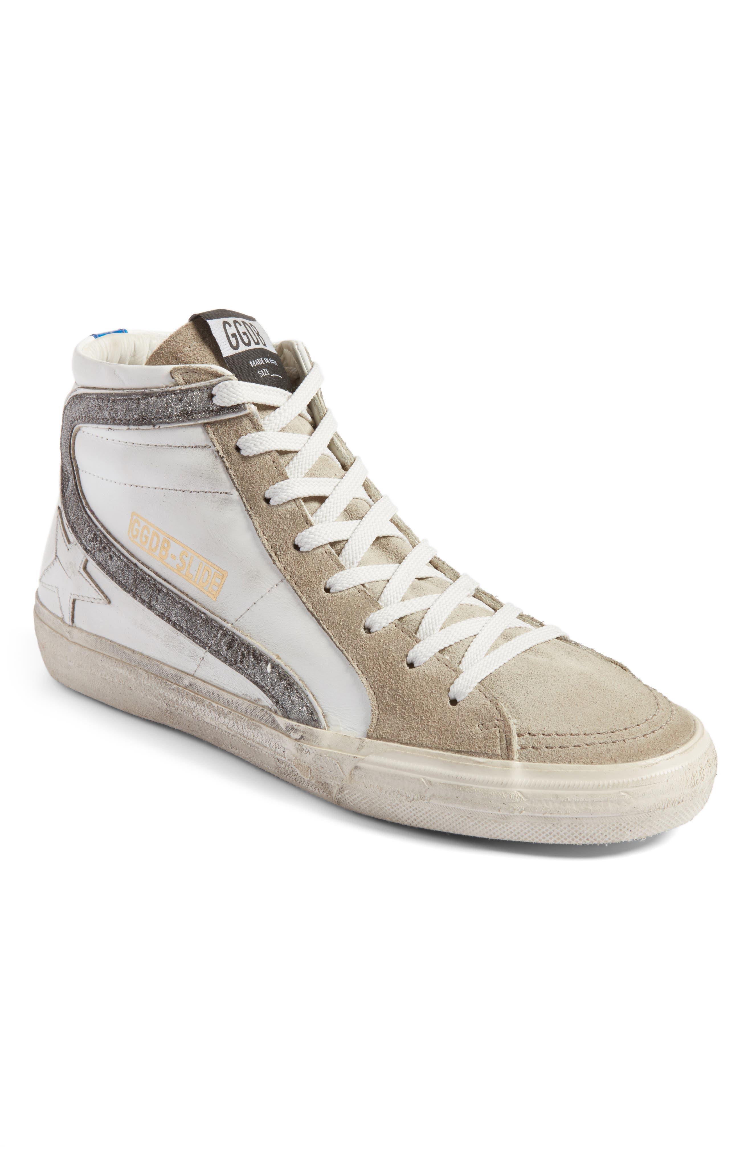 Golden Goose Slide High Top Sneaker (Women)