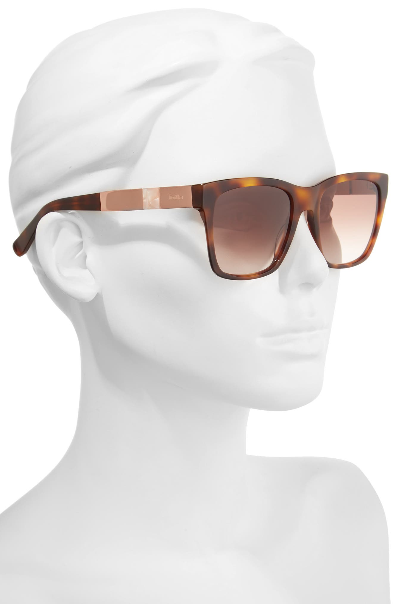 Alternate Image 2  - Max Mara Stone 54mm Gradient Sunglasses