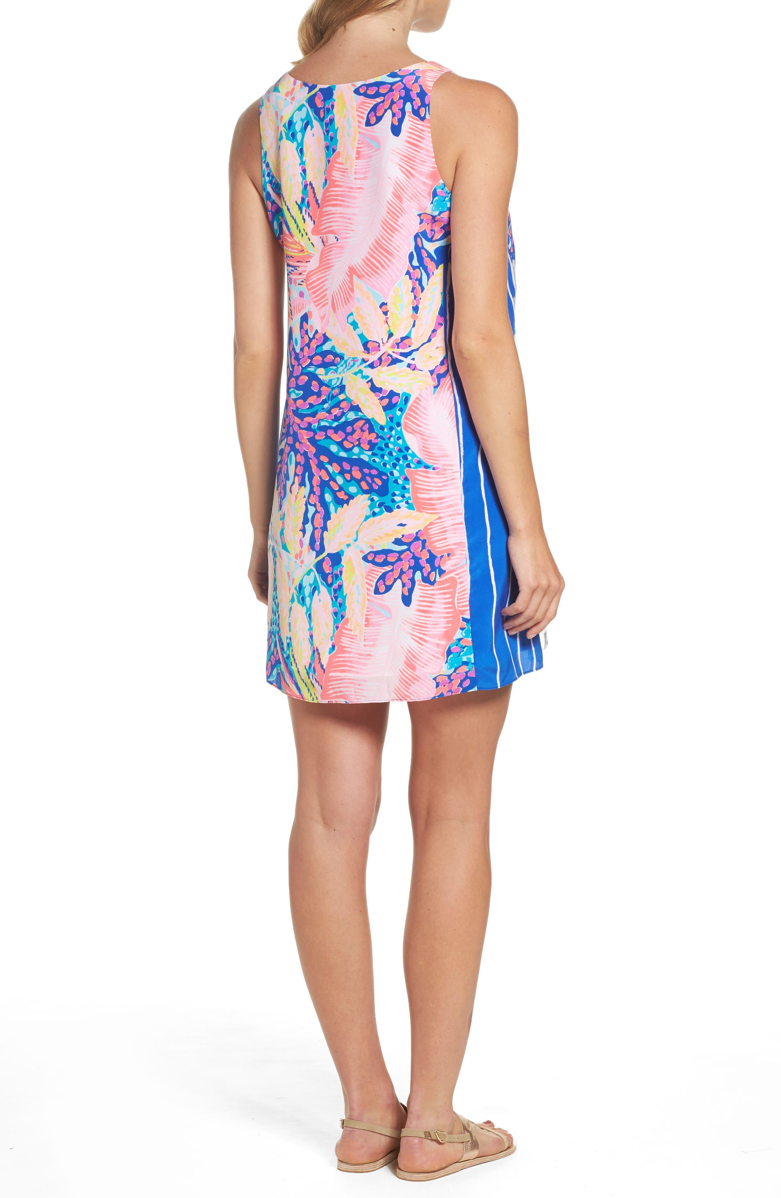 Alternate Image 2  - Lilly Pulitzer® Jackie Silk Shift Dress