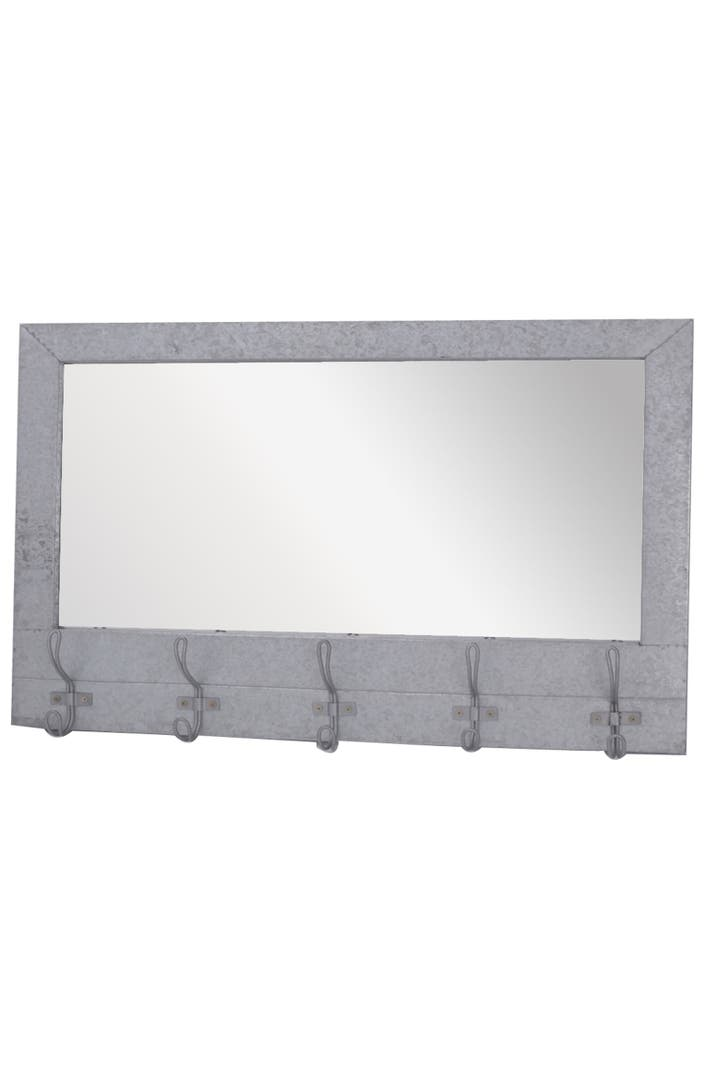 crystal art gallery metal wall mirror with hooks nordstrom. Black Bedroom Furniture Sets. Home Design Ideas