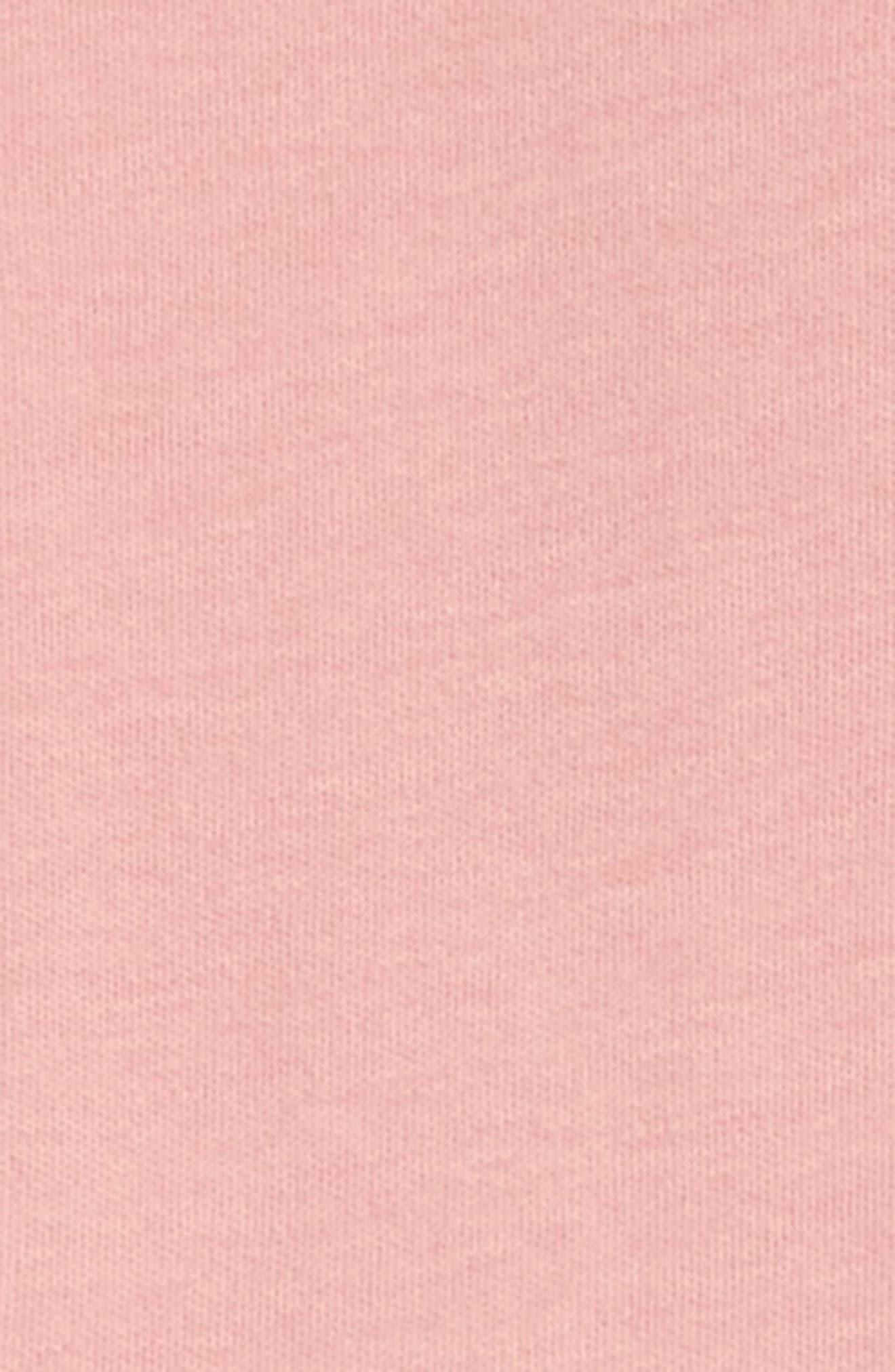 Organic Cotton Footie,                             Alternate thumbnail 2, color,                             Mauve