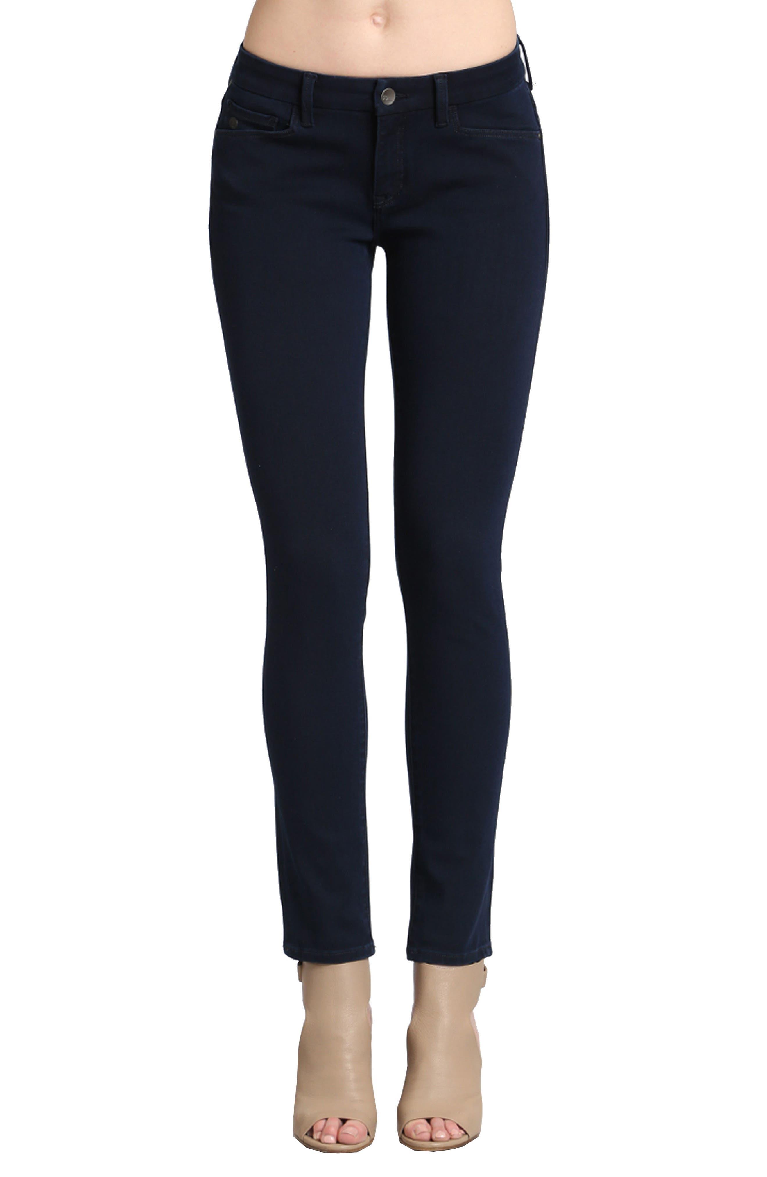 Alternate Image 1 Selected - Mavi Jeans Alexa Stretch Skinny Jeans (Deep)