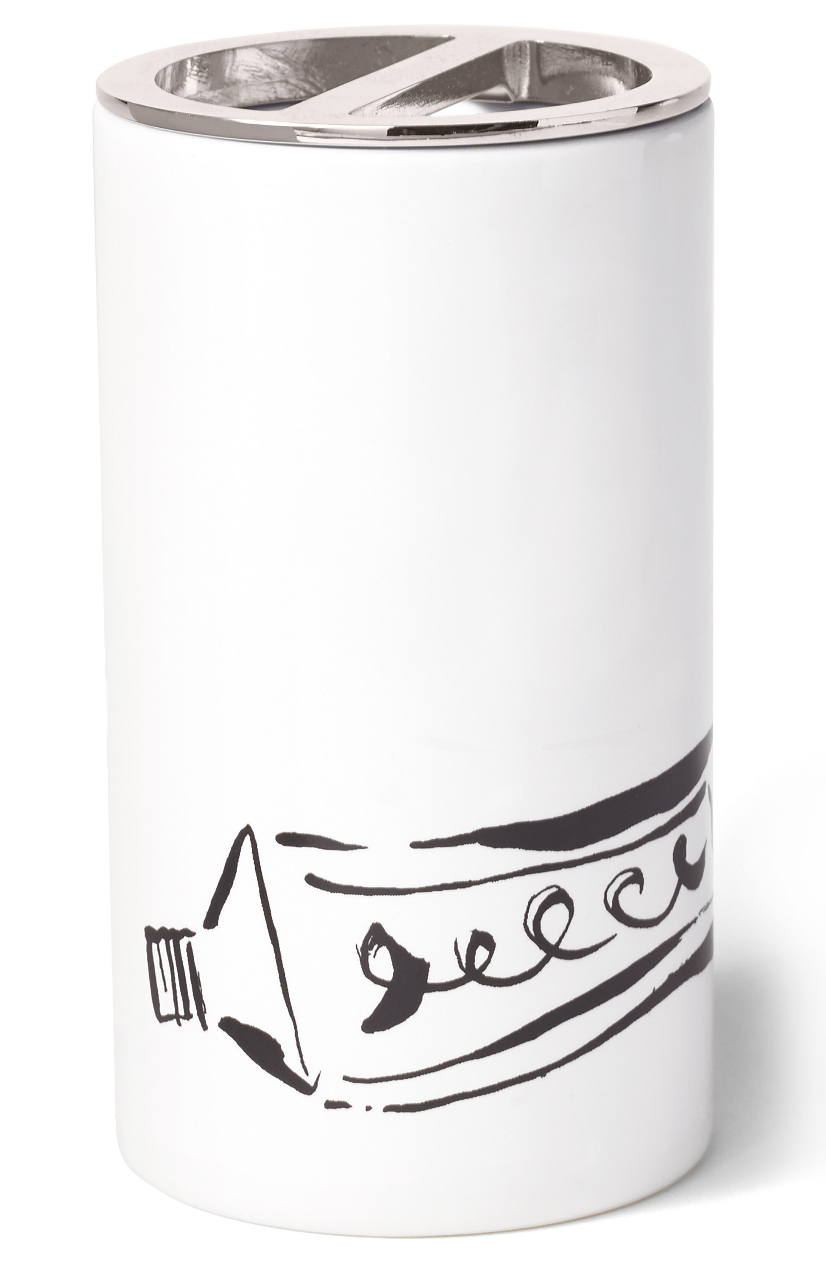 Alternate Image 1 Selected - kate spade new york daisy place toothbrush holder