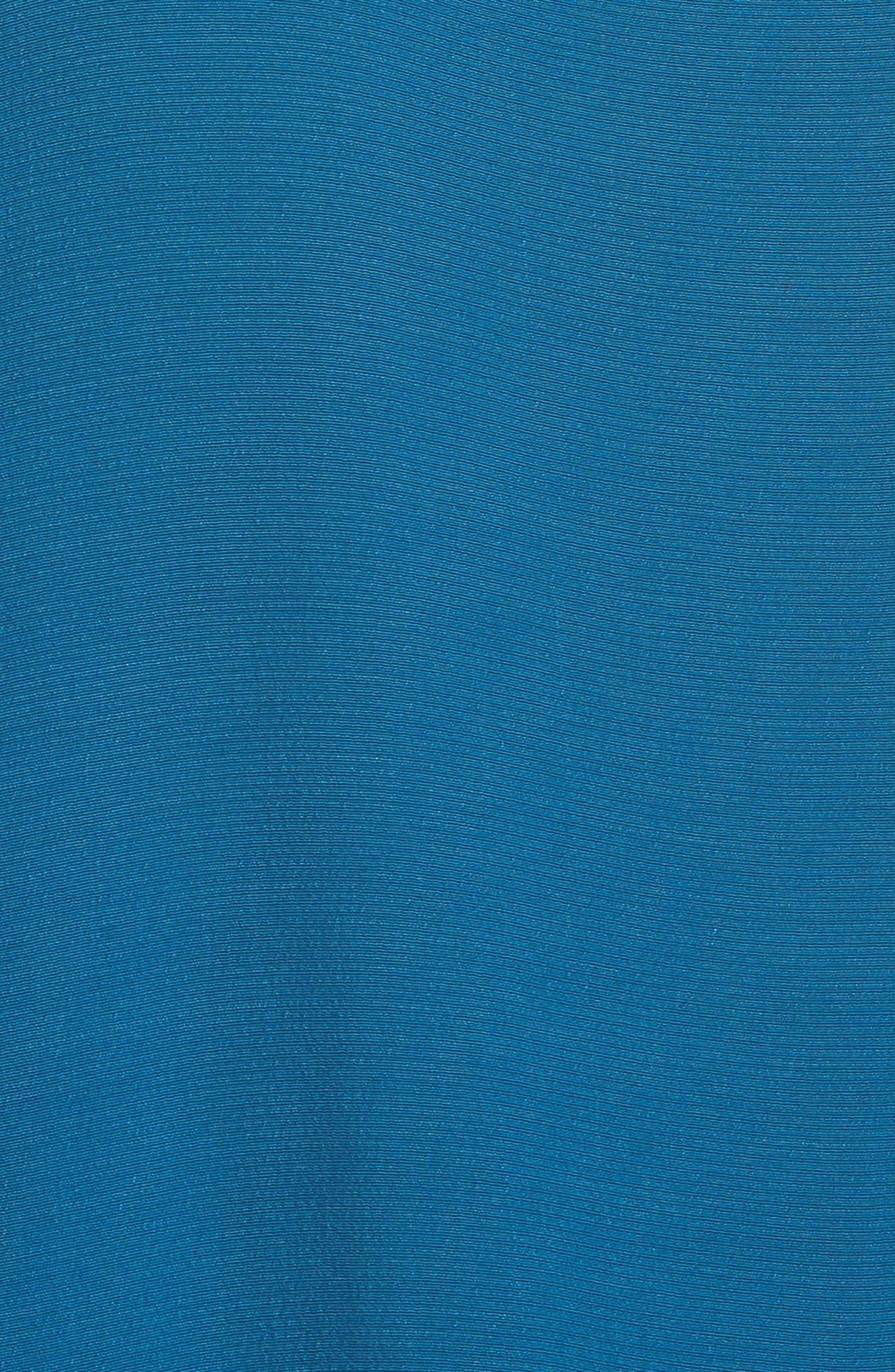 Midi Slipdress,                             Alternate thumbnail 5, color,                             Nile