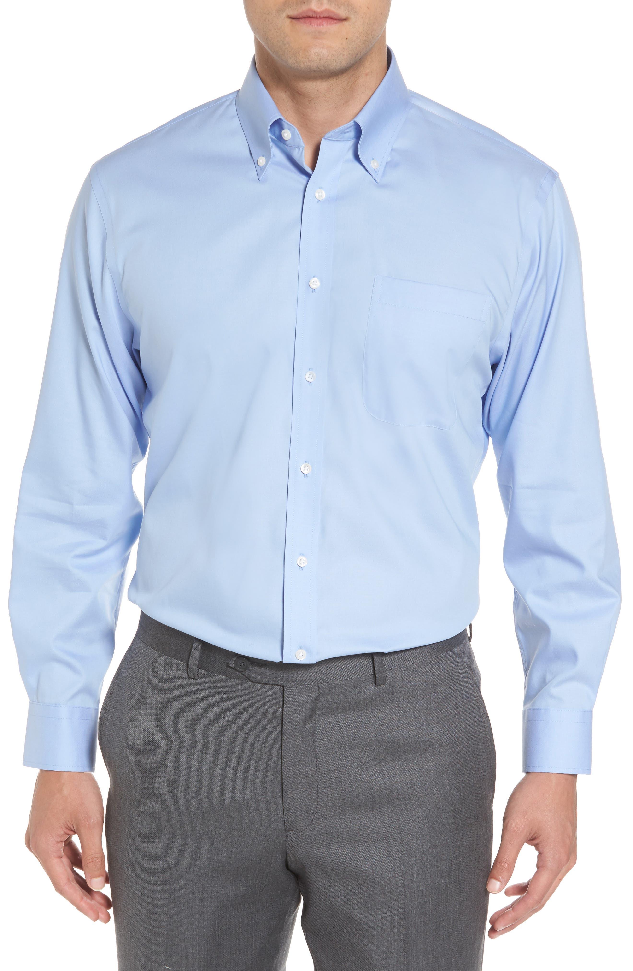 Dress blue white shirt