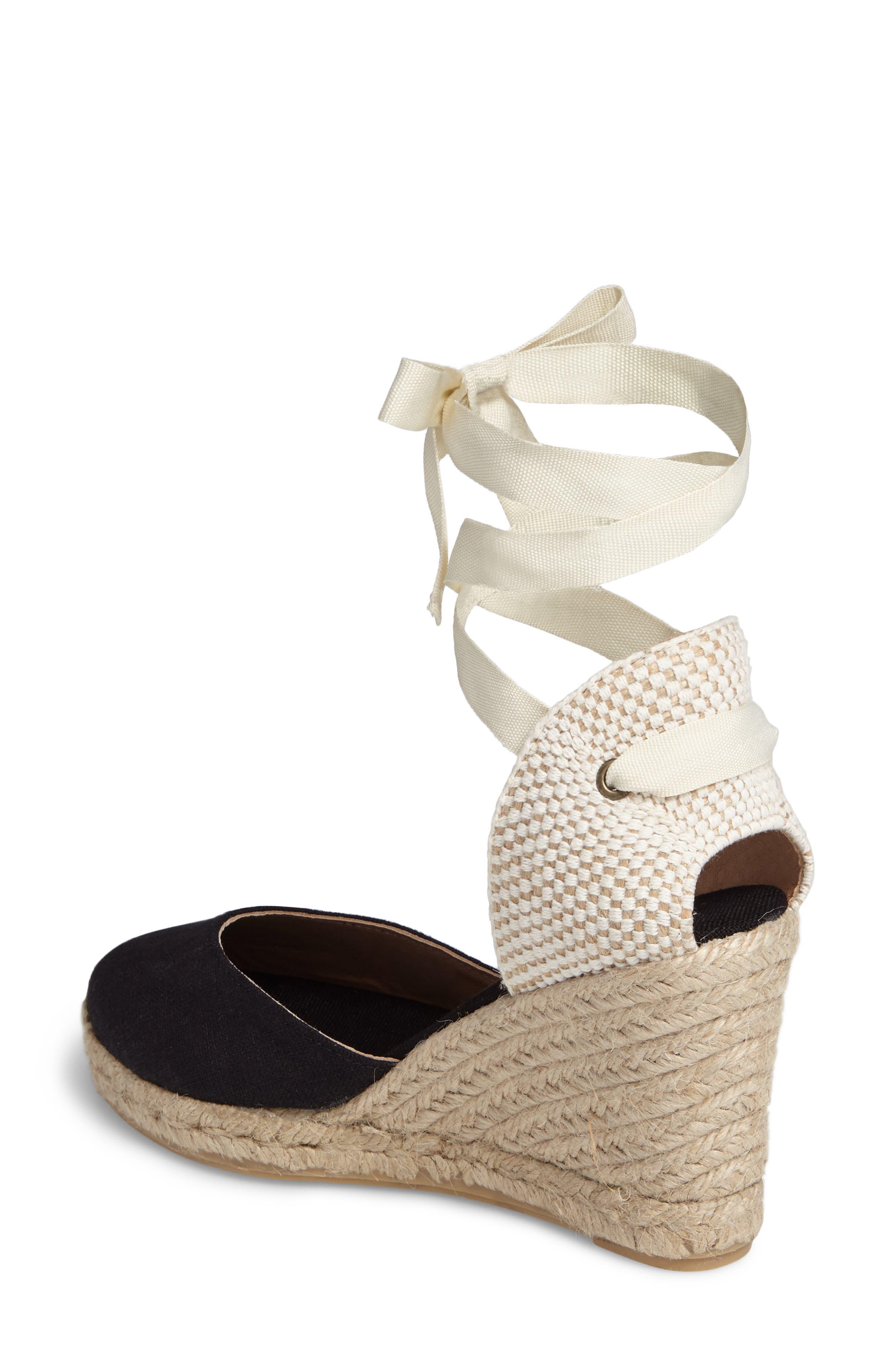 Alternate Image 2  - Soludos Wedge Lace-Up Espadrille Sandal (Women)