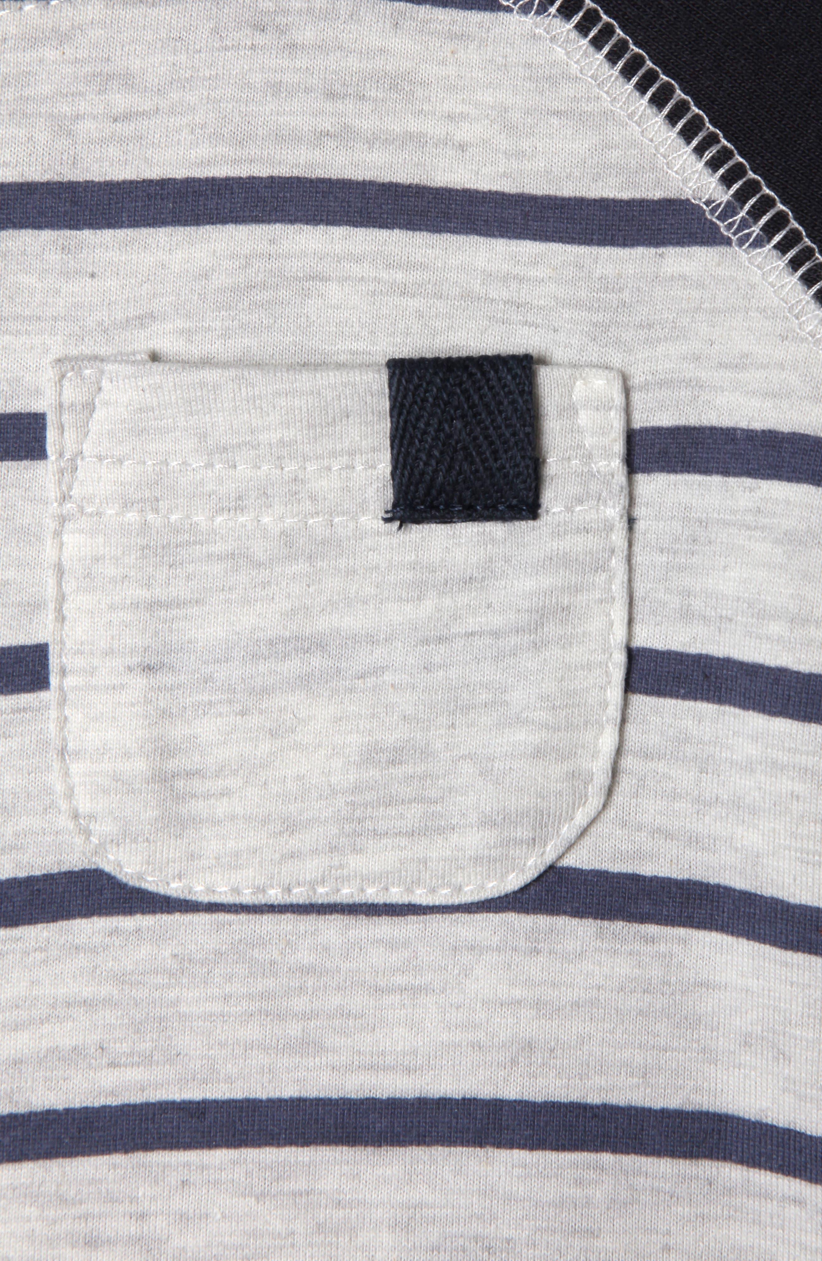 Rocket Organic Cotton T-Shirt,                             Alternate thumbnail 2, color,                             Marled