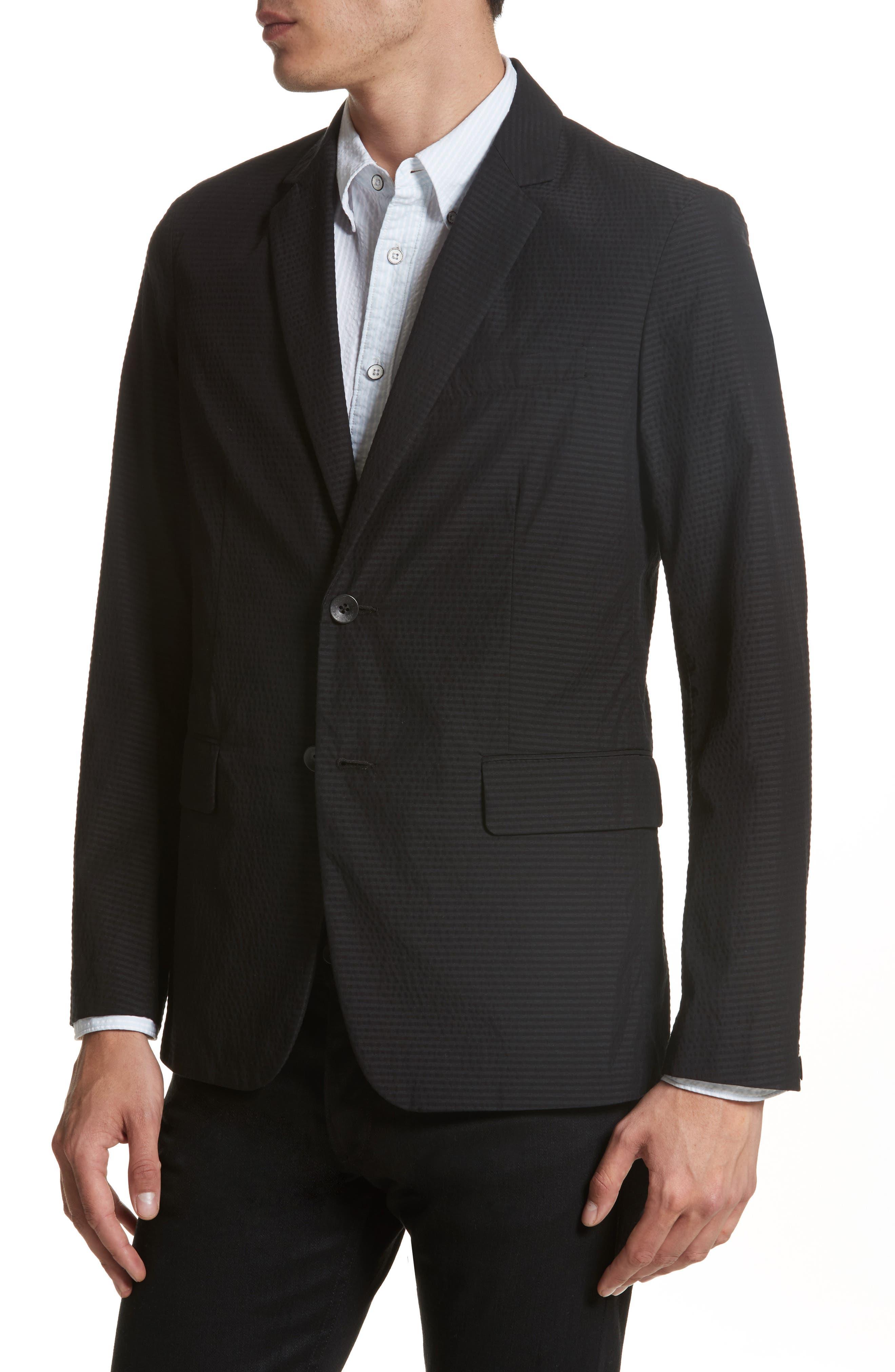 Alternate Image 4  - rag & bone Philips Cotton Blend Blazer