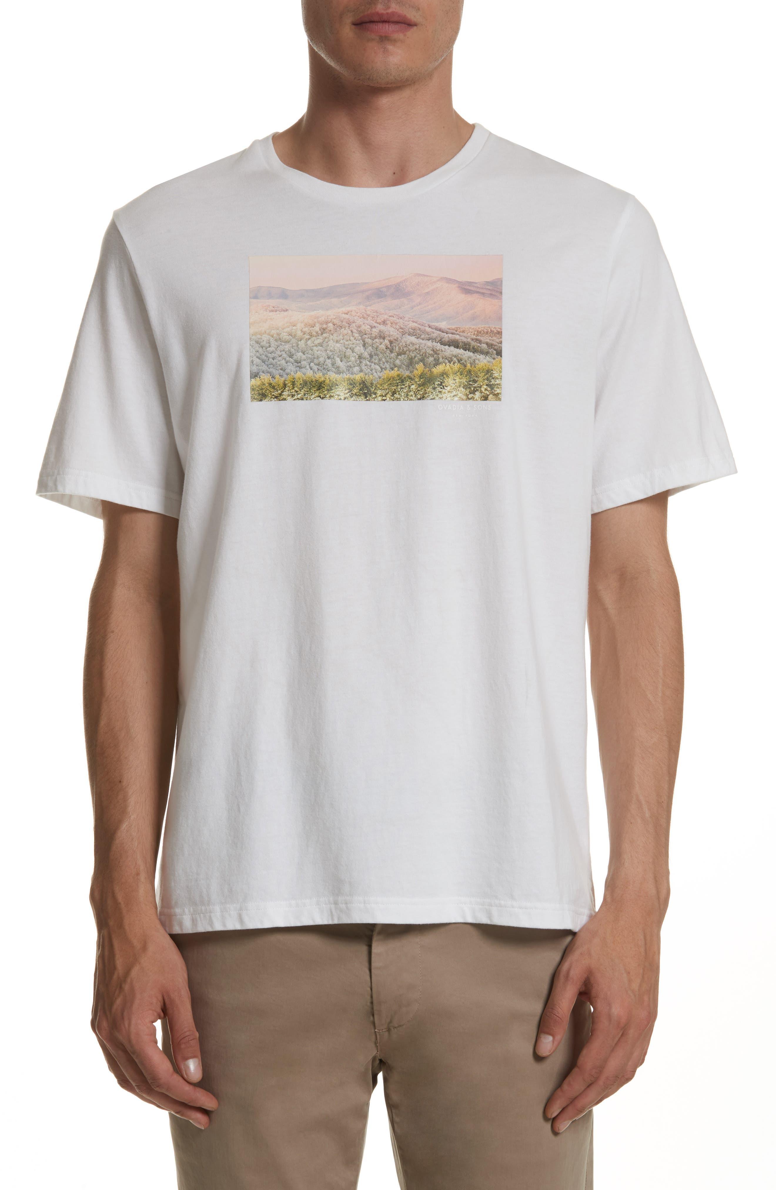 Appalachian Winter Graphic T-Shirt,                         Main,                         color, White