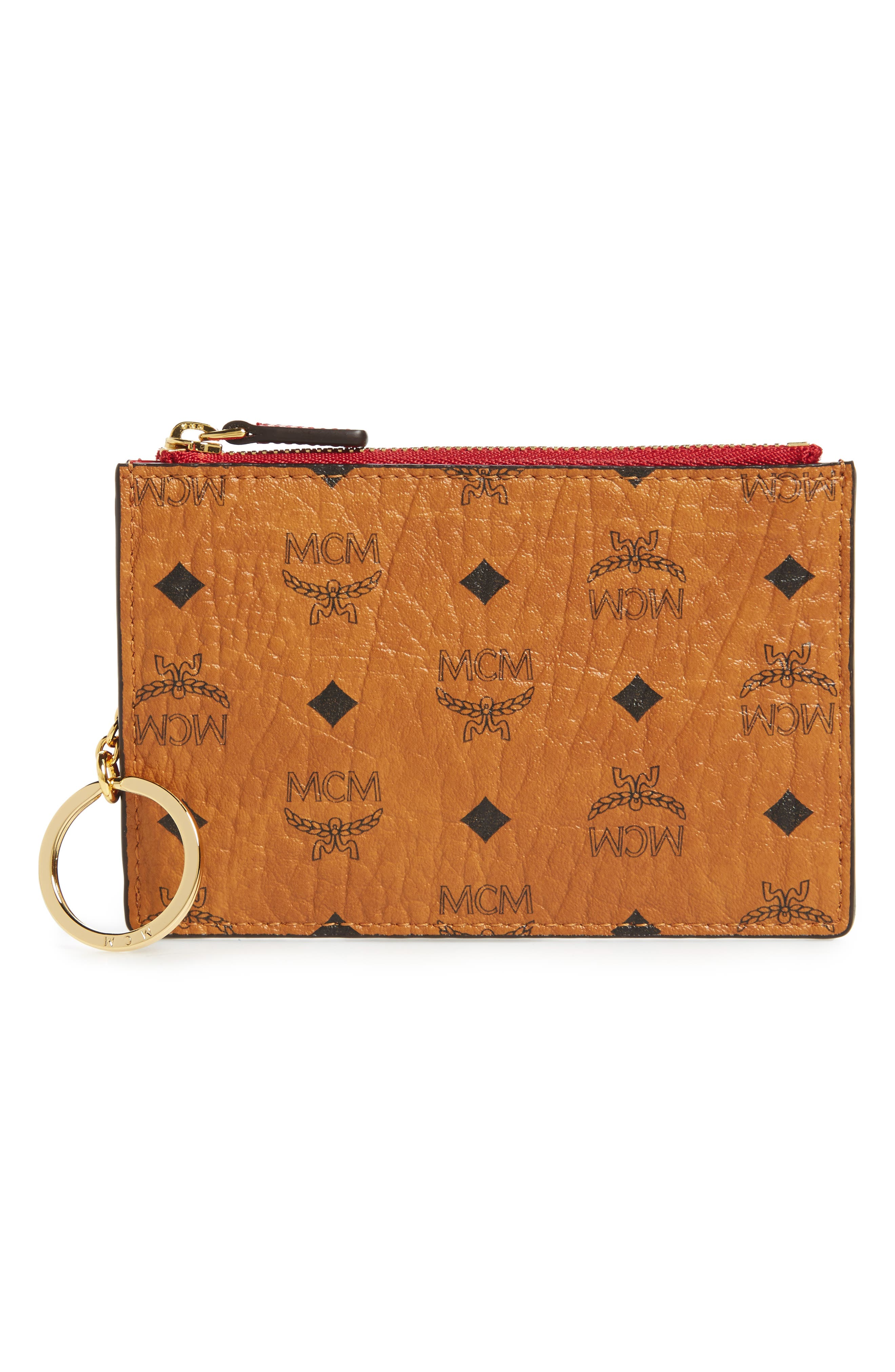 MCM Color Visetos Key Pouch