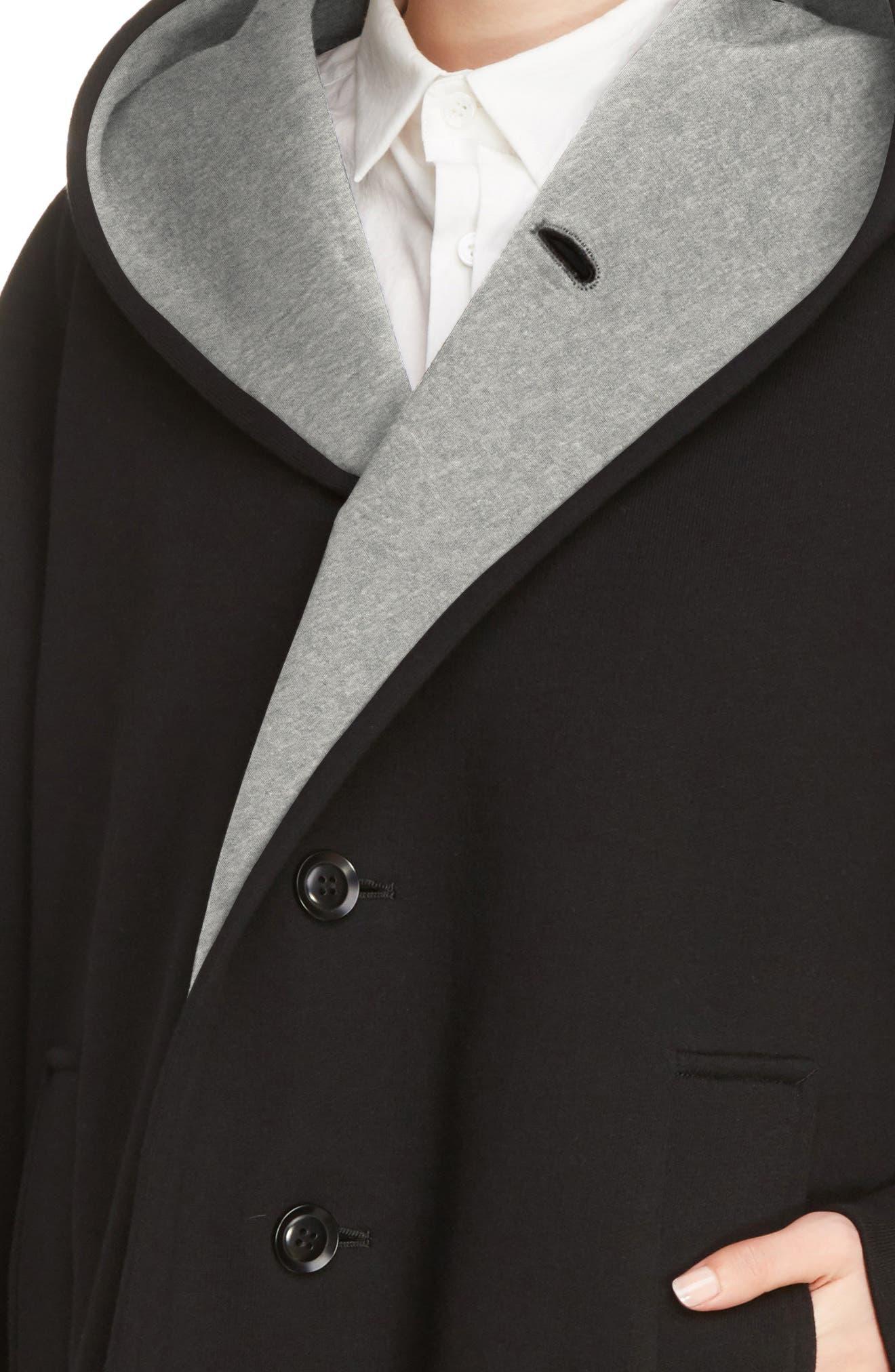 Alternate Image 6  - Y's by Yohji Yamamoto U-Hood Short Jacket