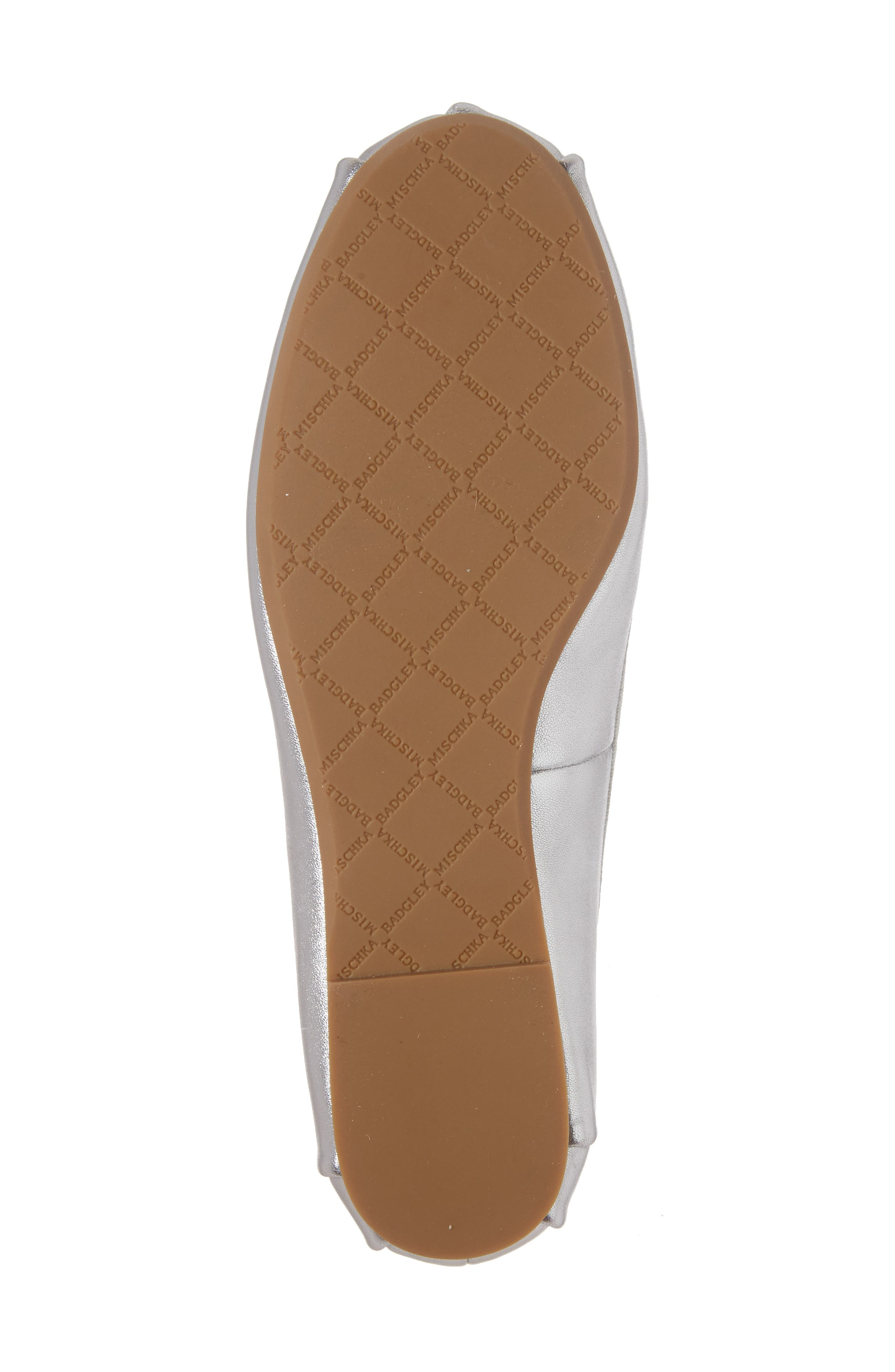 Alternate Image 6  - Badgley Mischka Karter II Embellished Ankle Wrap Ballet Flat (Women)