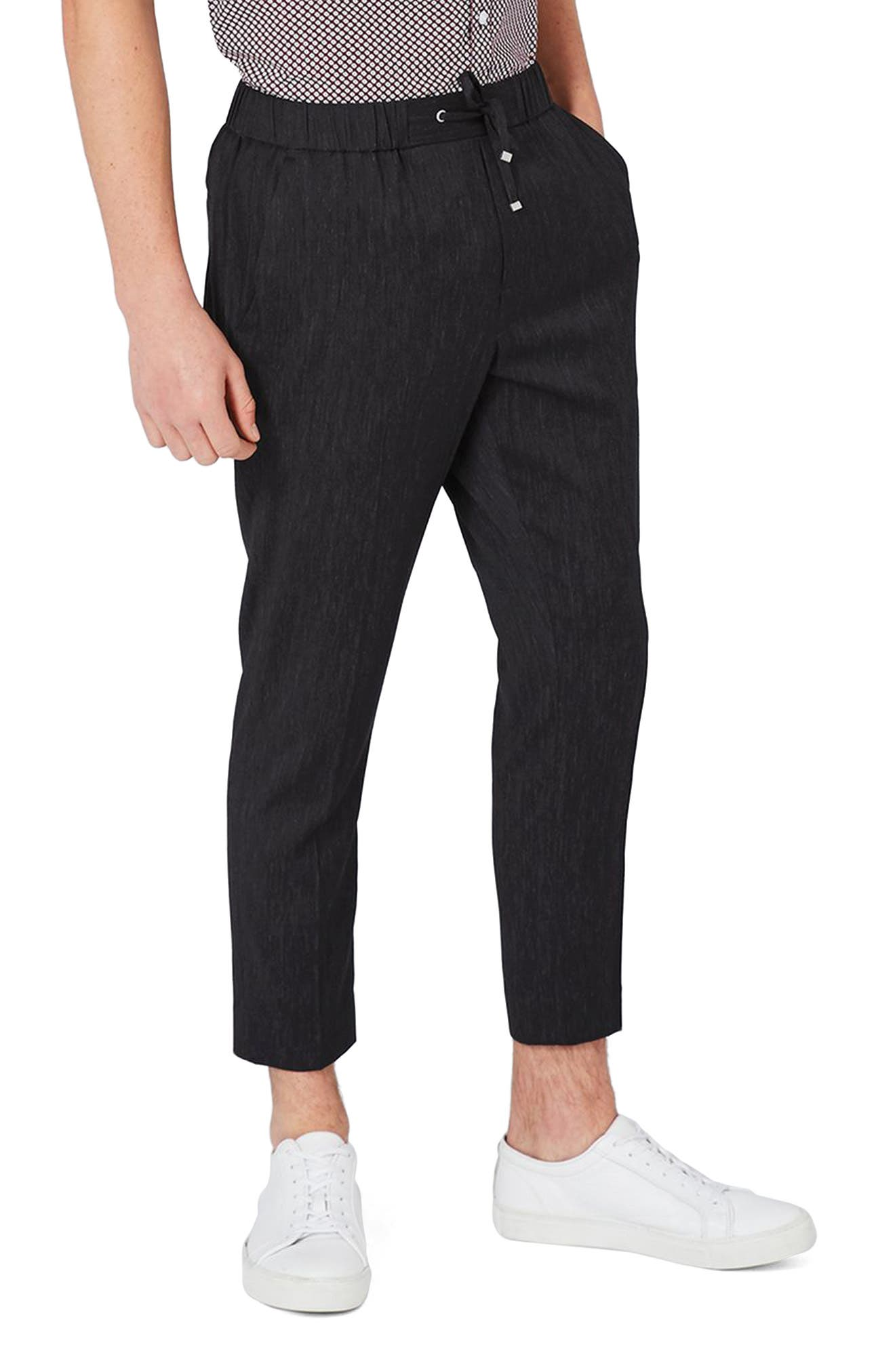 Alternate Image 1 Selected - Topman Cook Mélange Jogger Pants