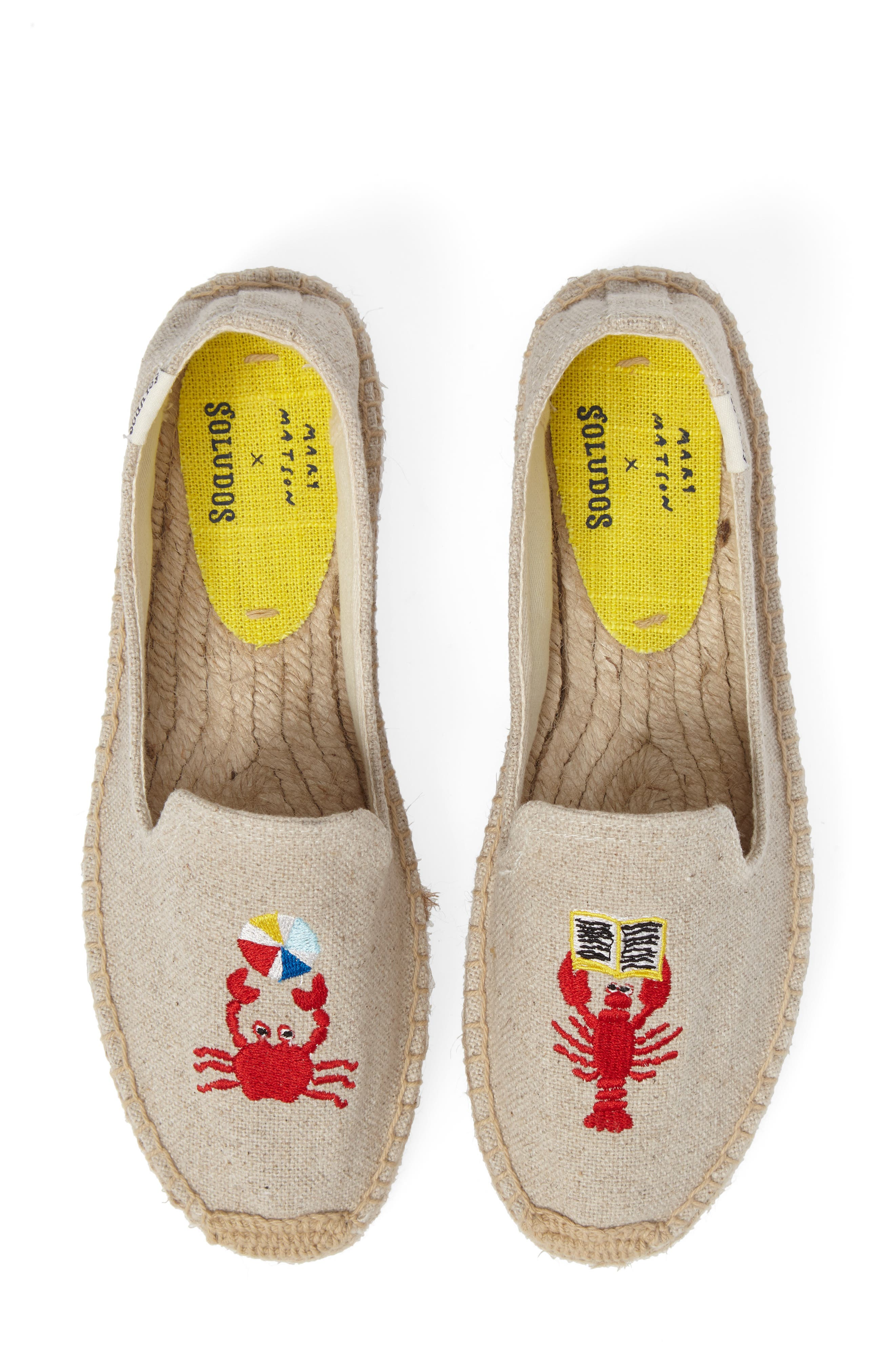 Soludos x Mary Matson Lobster & Crab Platform Espadrille (Women)
