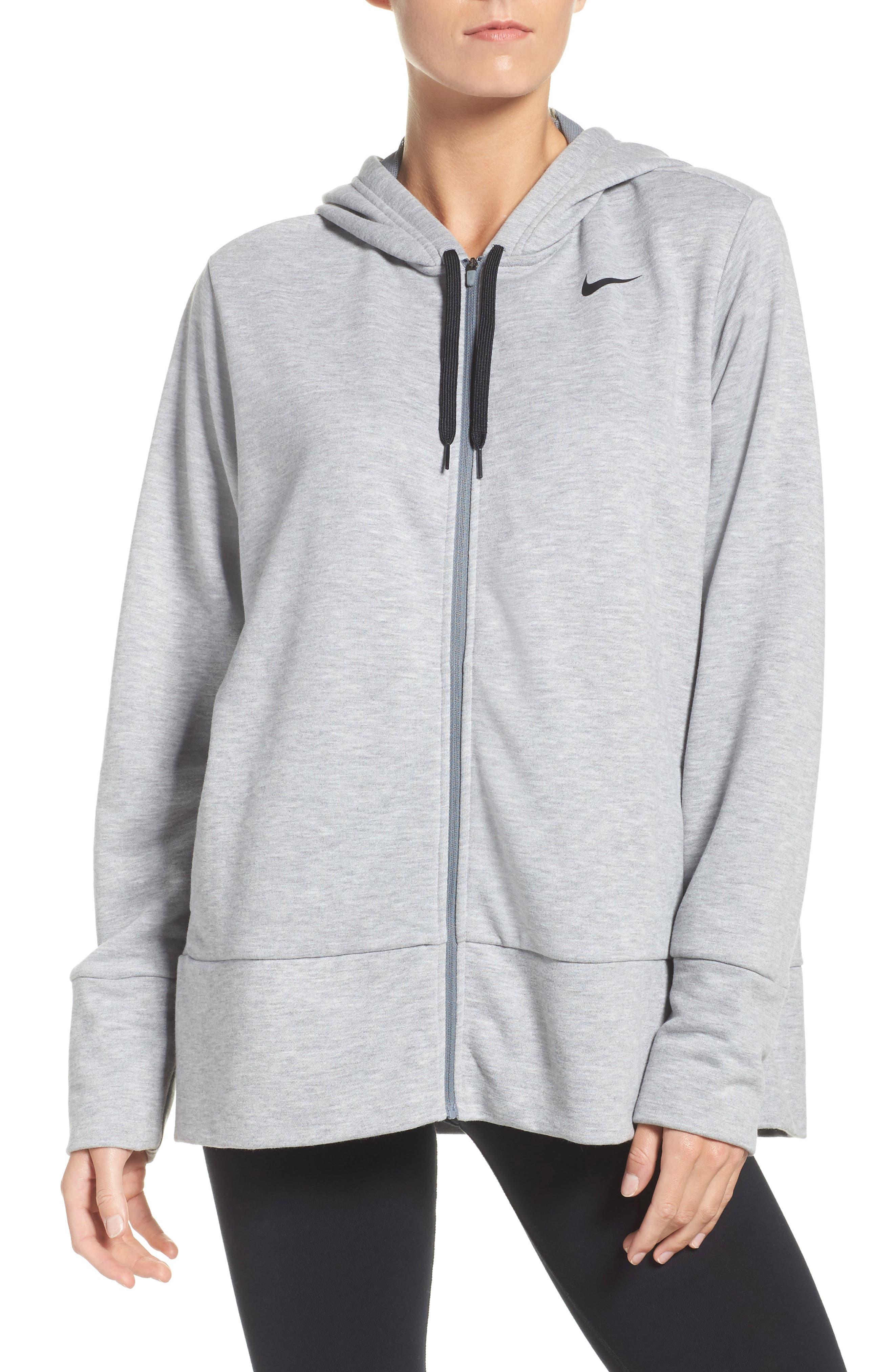 Nike Dry-FIT Oversize Zip Hoodie (Plus Size)