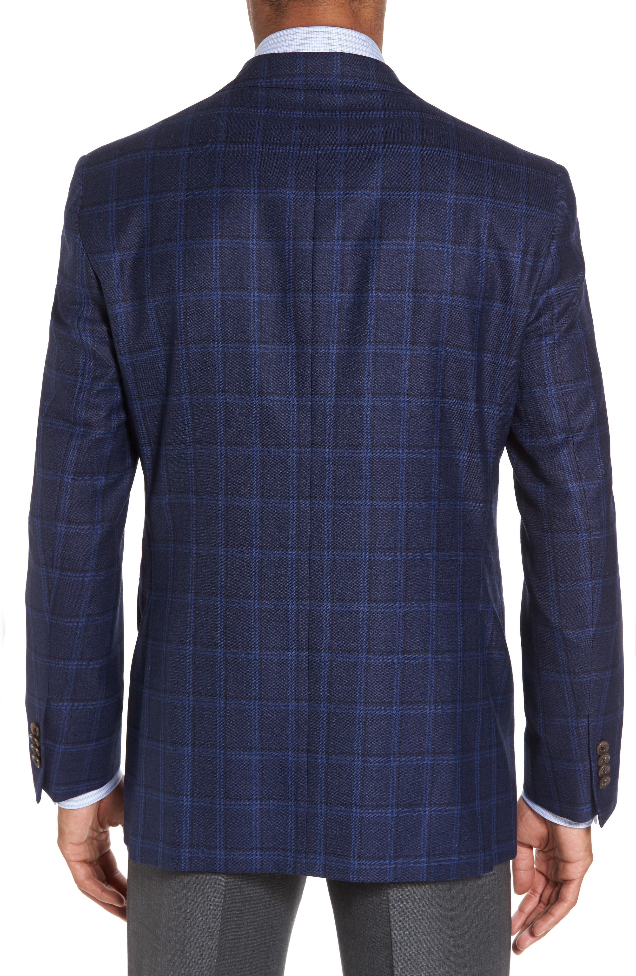 Alternate Image 2  - David Donahue Conner Classic Fit Sport Coat