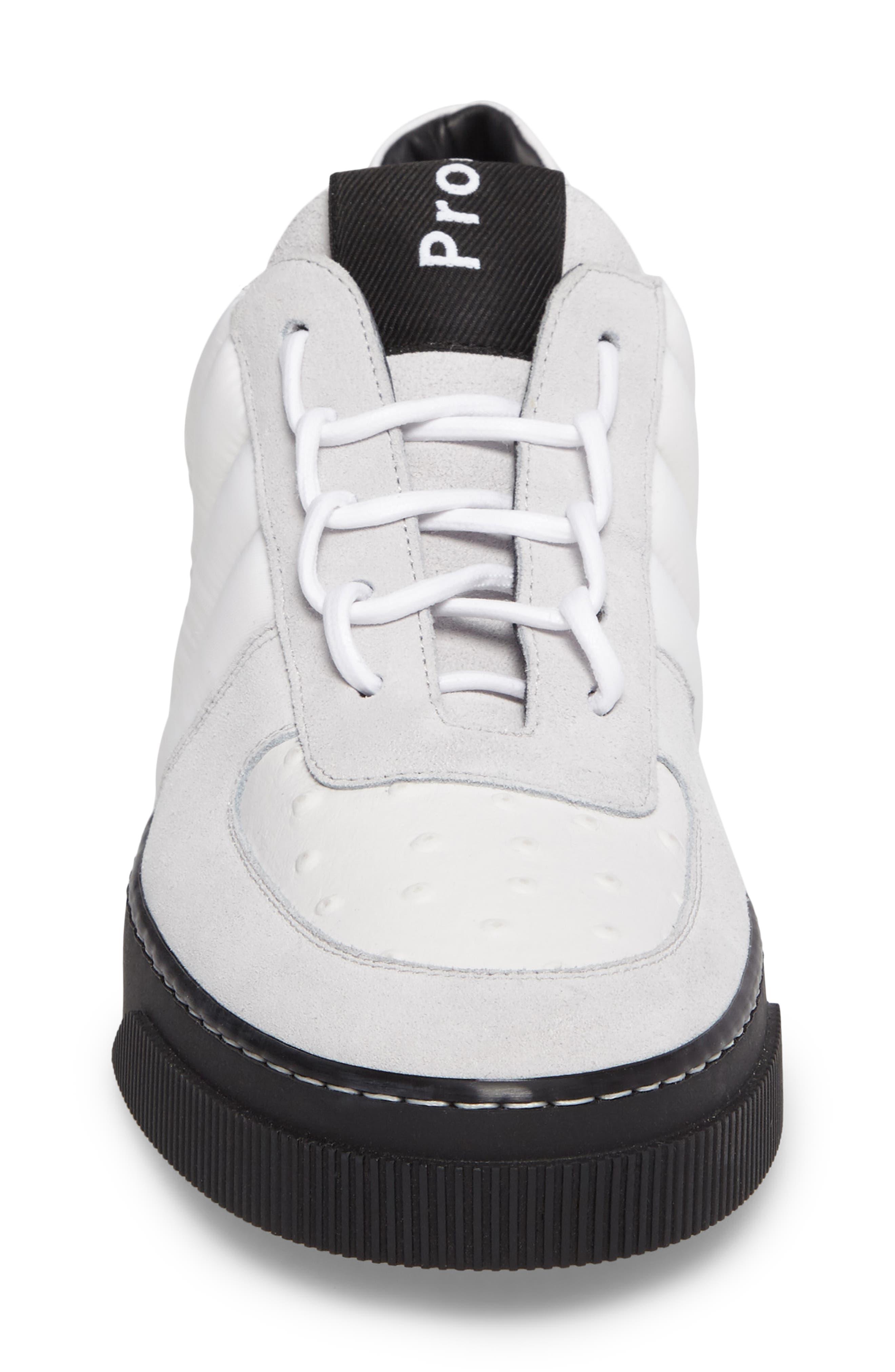 Sneaker,                             Alternate thumbnail 4, color,                             White