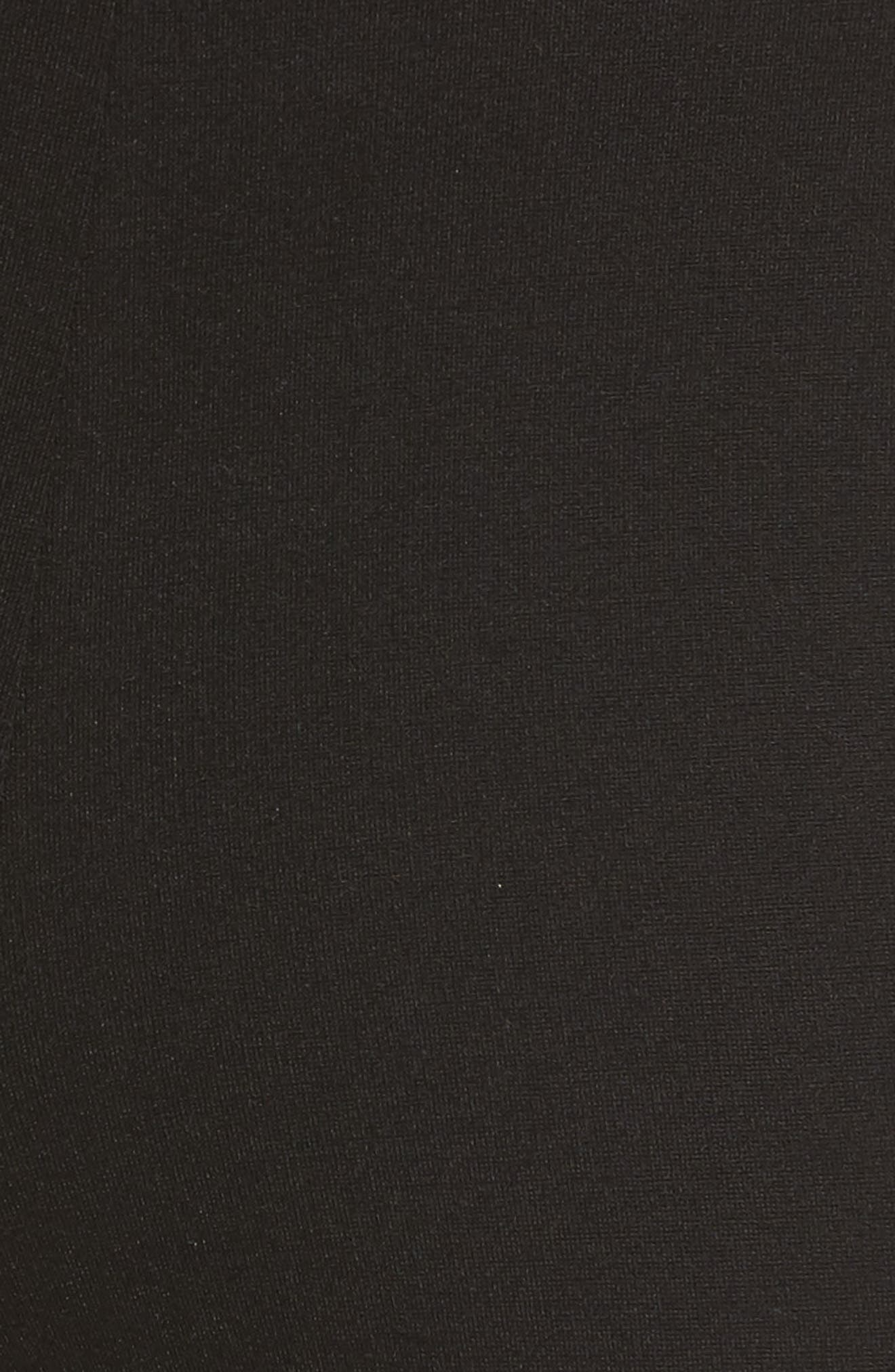 Compression Slim Leg Pants,                             Alternate thumbnail 5, color,                             Black
