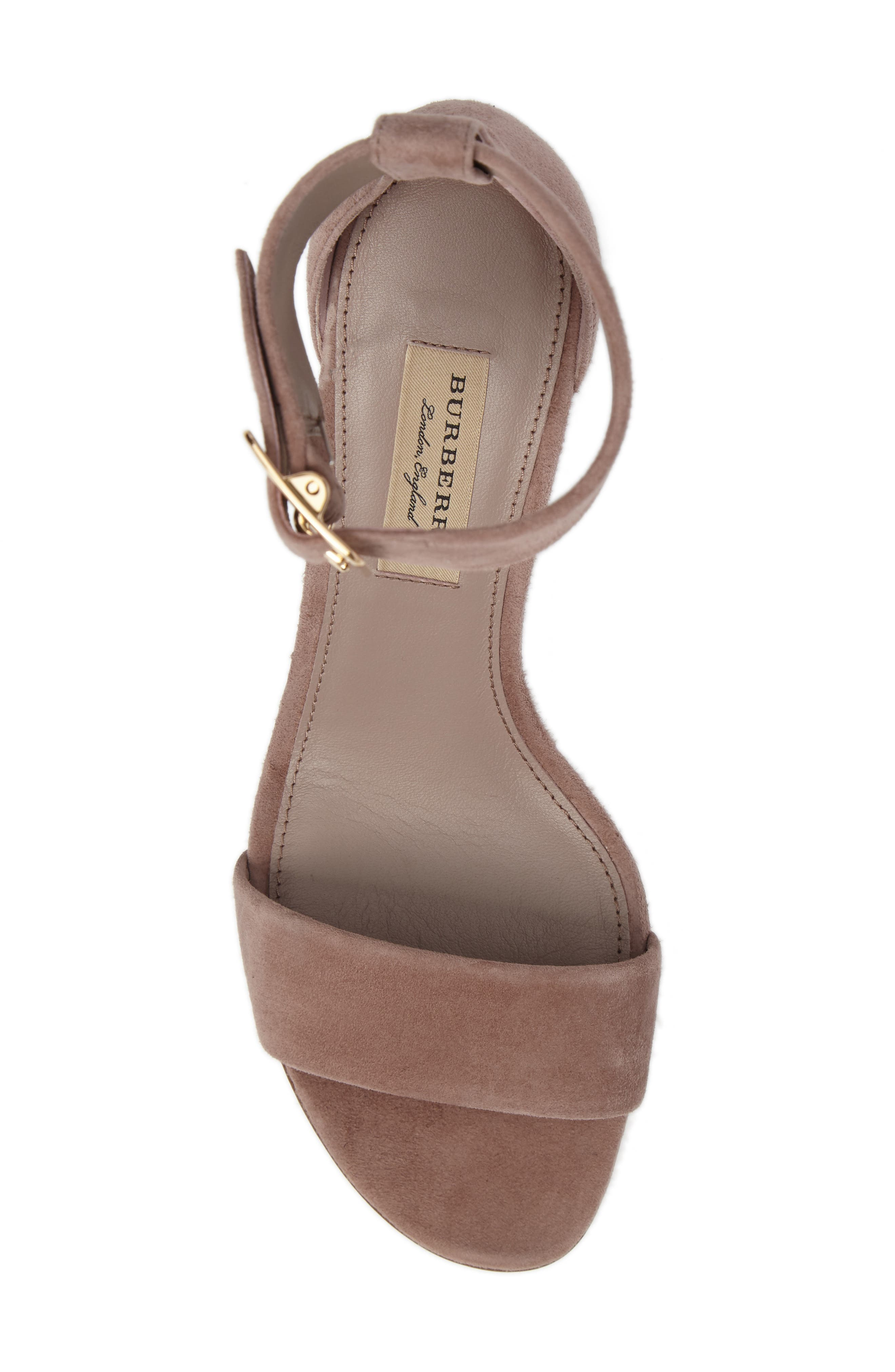Alternate Image 5  - Burberry Trench Buckle Sandal (Women)