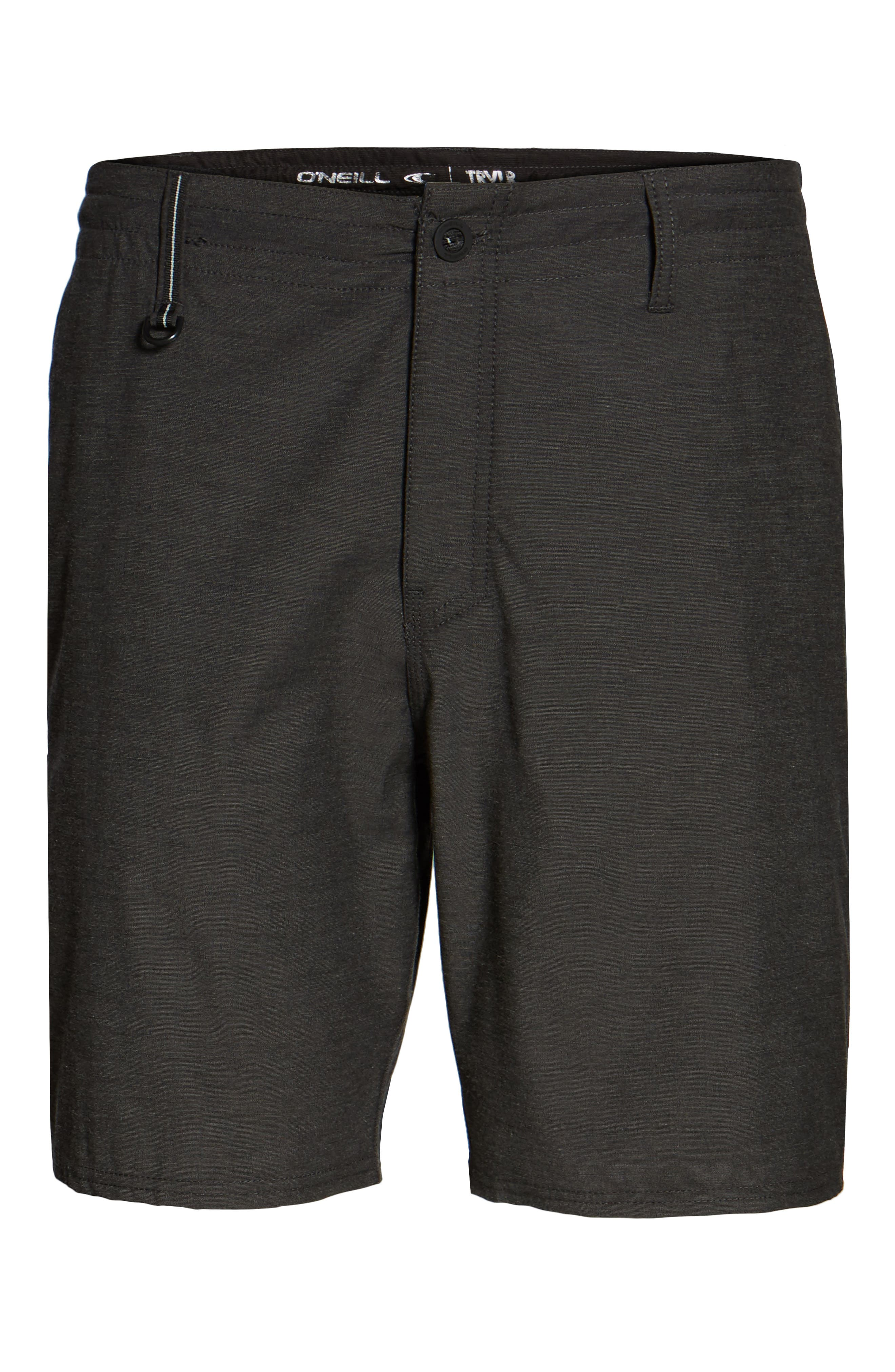 Traveler Recon Hybrid Shorts,                             Alternate thumbnail 6, color,                             Black