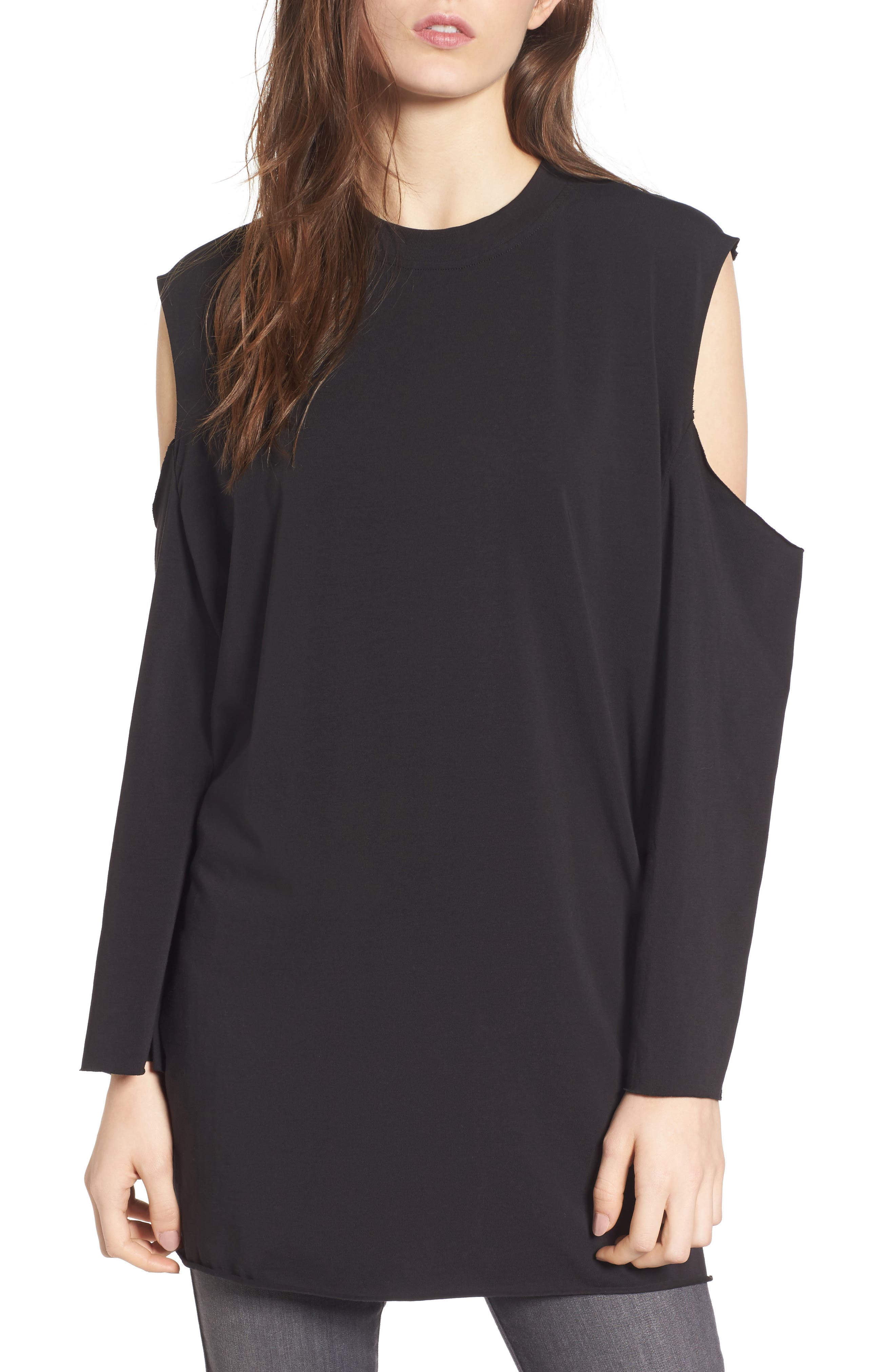 Alternate Image 1 Selected - KENDALL + KYLIE Cutaway Tunic
