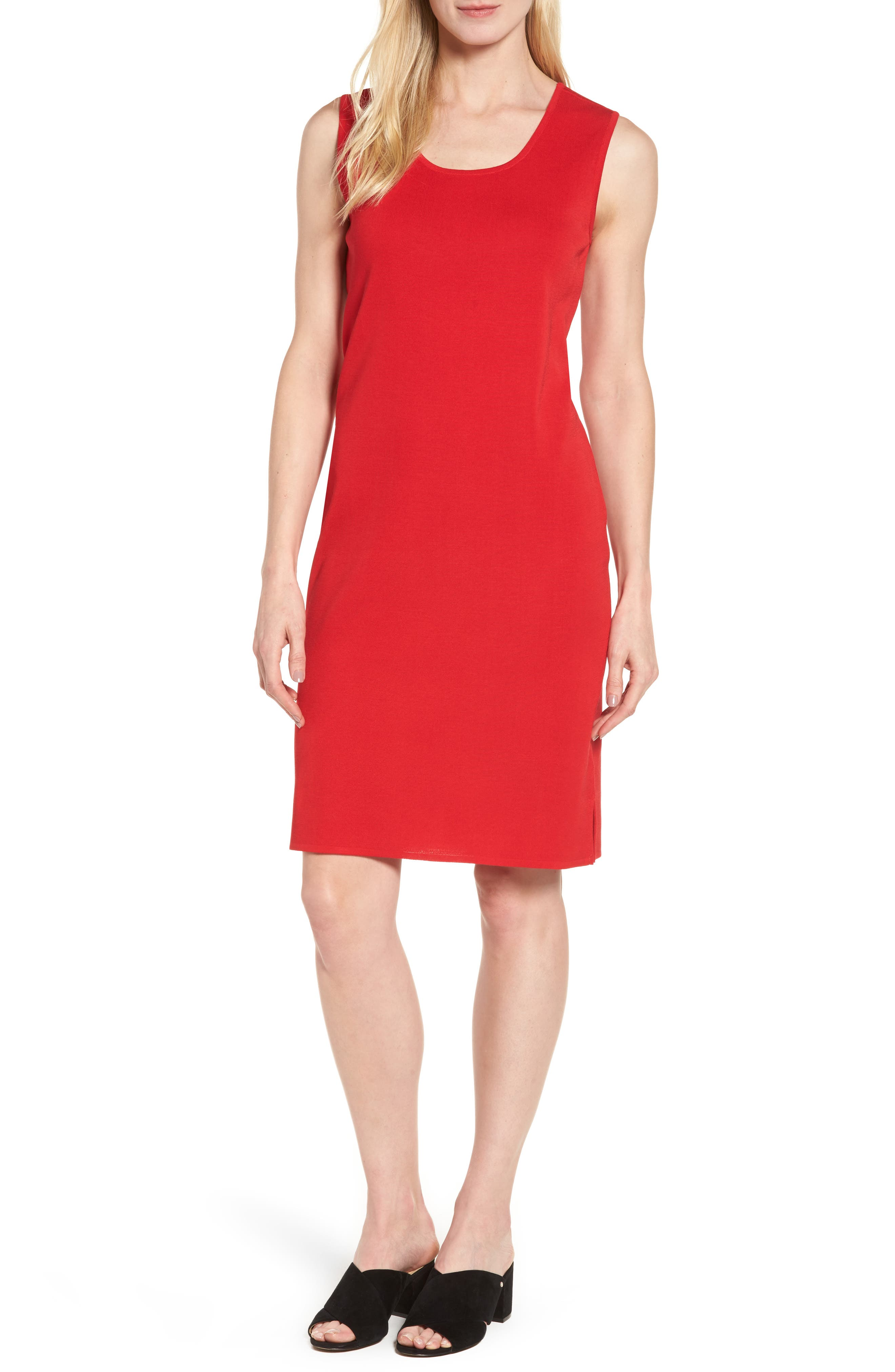 Main Image - Ming Wang Knit Sheath Dress