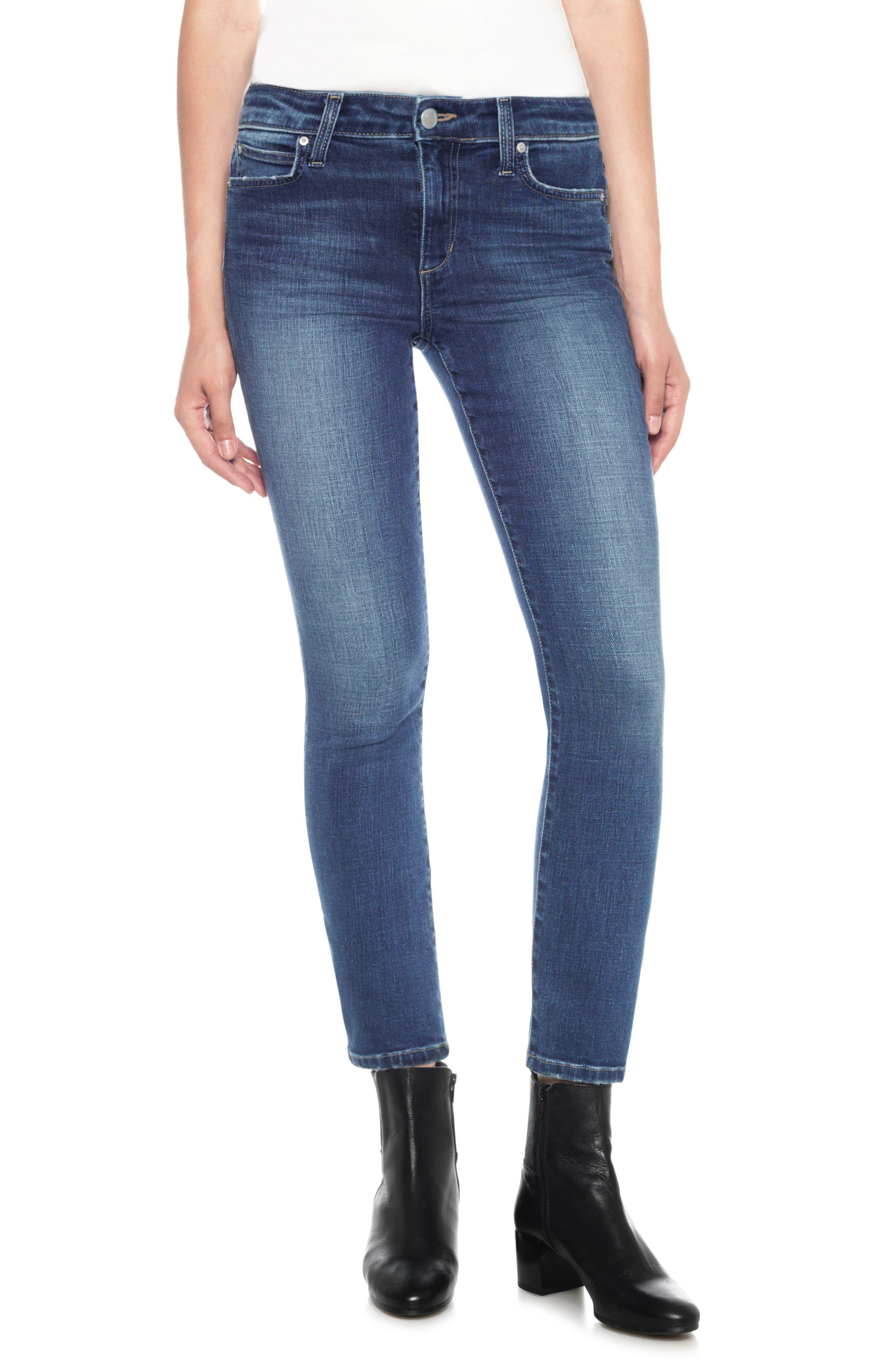 Kass Ankle Straight Leg Jeans,                             Main thumbnail 1, color,                             Sutton