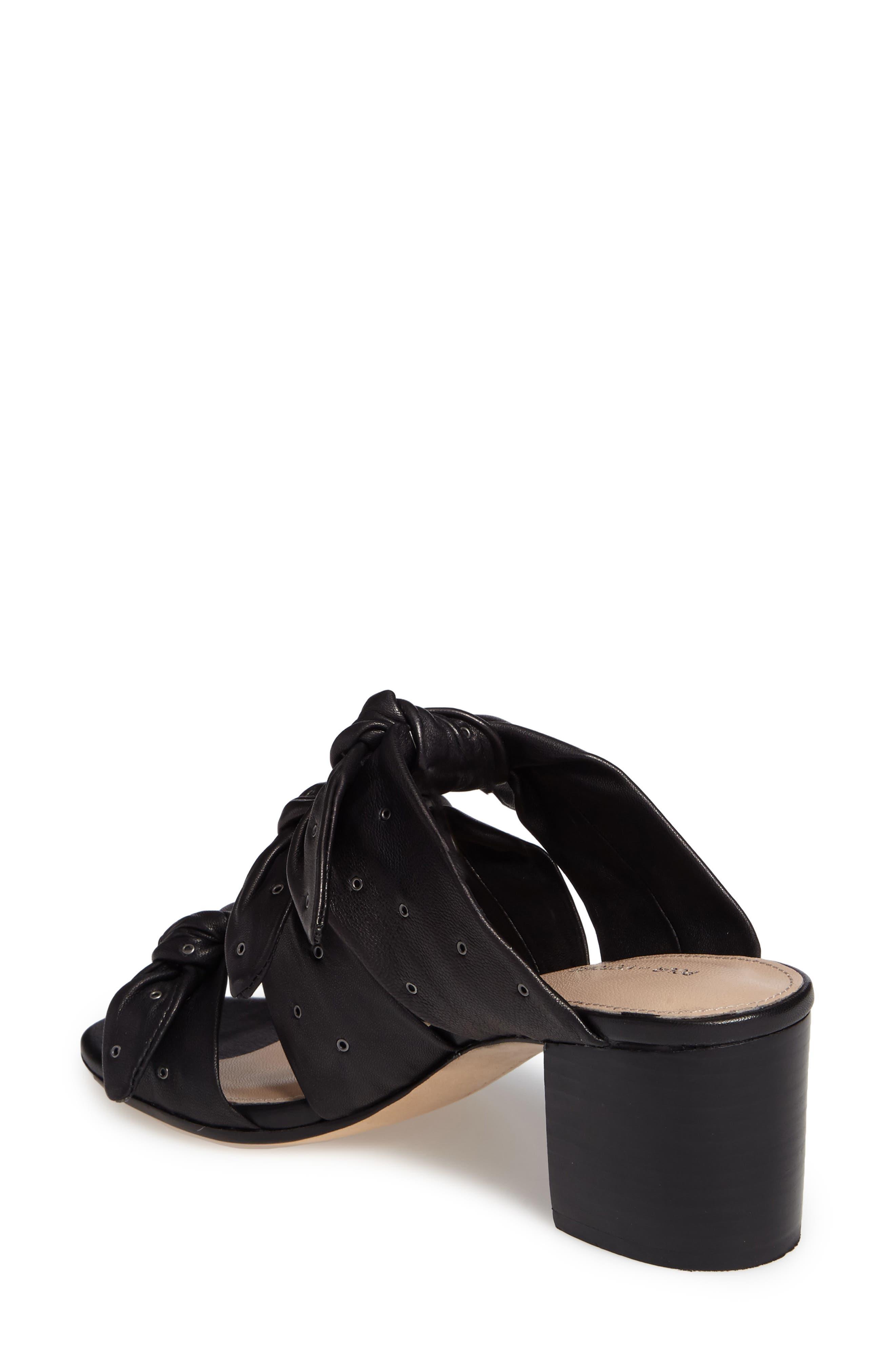 Pour la Victore Amal Block Heel Sandal,                             Alternate thumbnail 2, color,                             Black