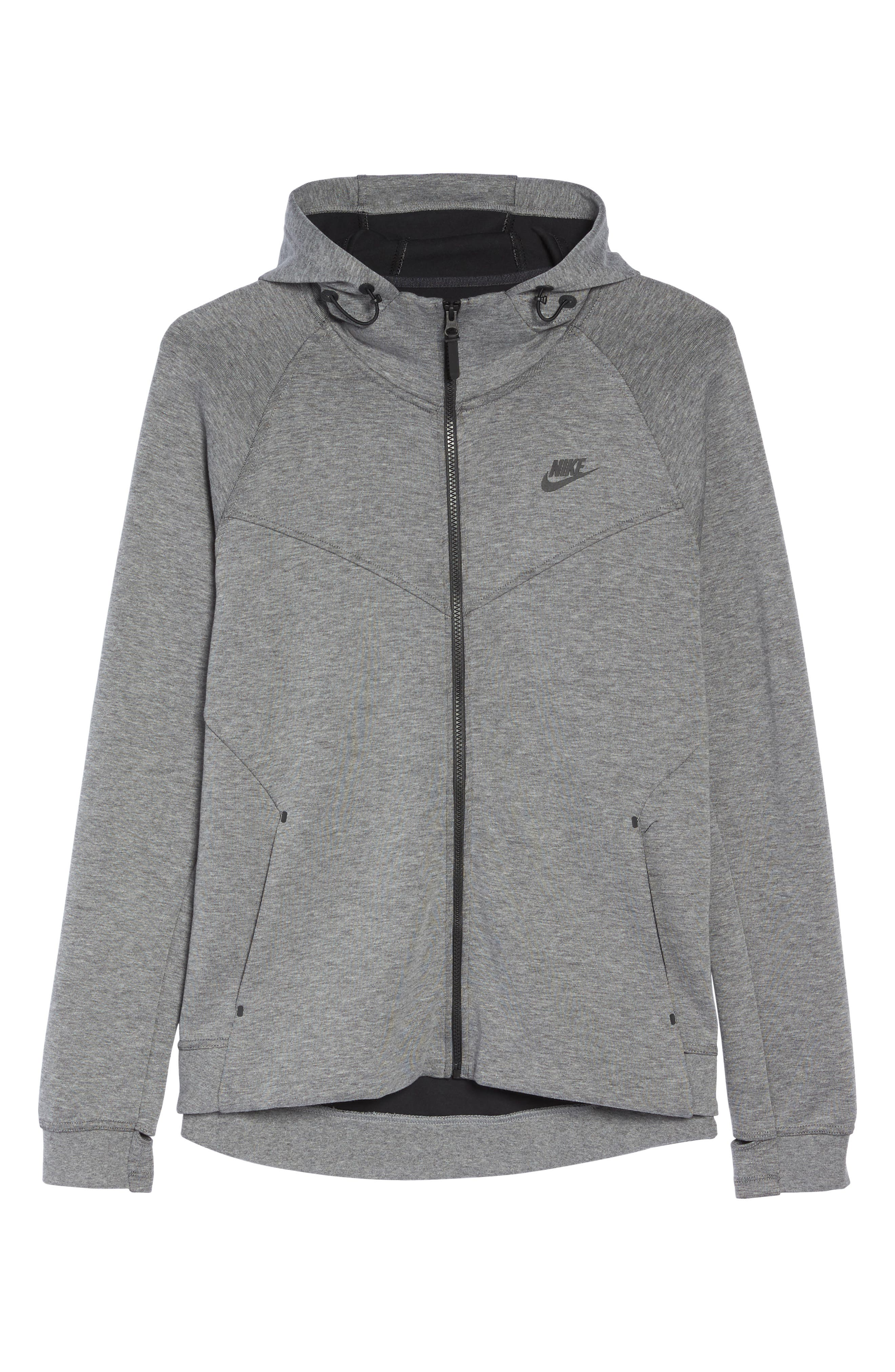 Alternate Image 6  - Nike Tech Fleece Hoodie (Plus Size)