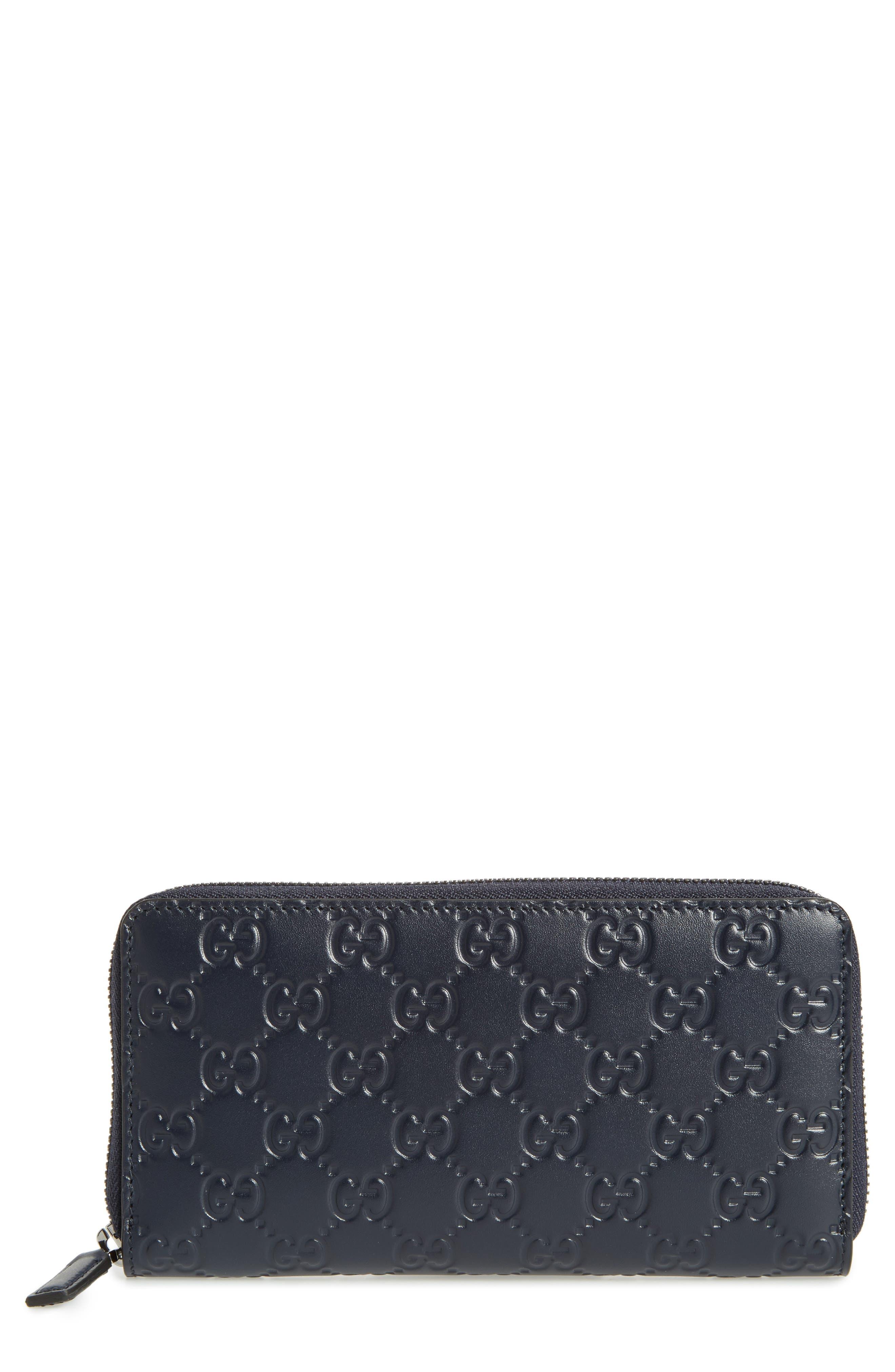 Avel Zip Wallet,                             Main thumbnail 1, color,                             Blue