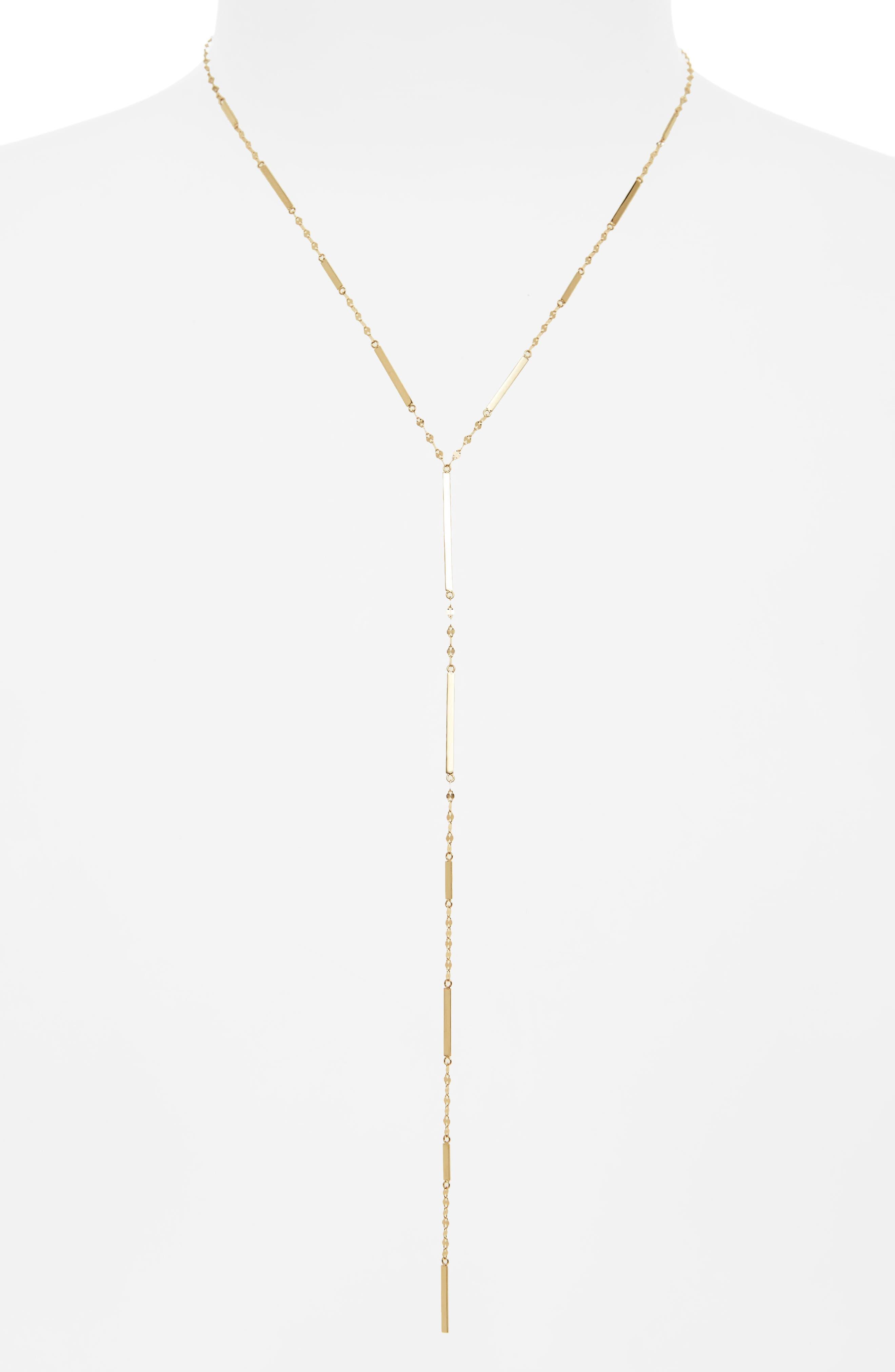 Lana Jewelry Mega Dash Y-Necklace