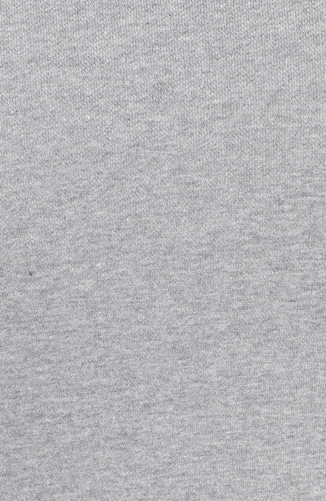 Sportswear Modern Crew T-Shirt,                             Alternate thumbnail 5, color,                             Grey