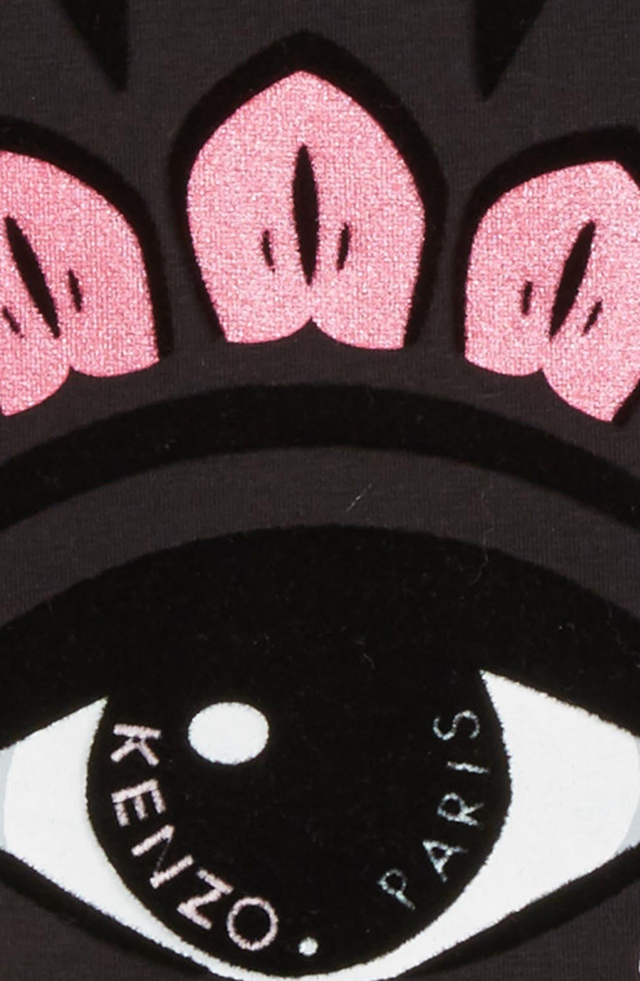 Eye Graphic Tee,                             Alternate thumbnail 2, color,                             Black