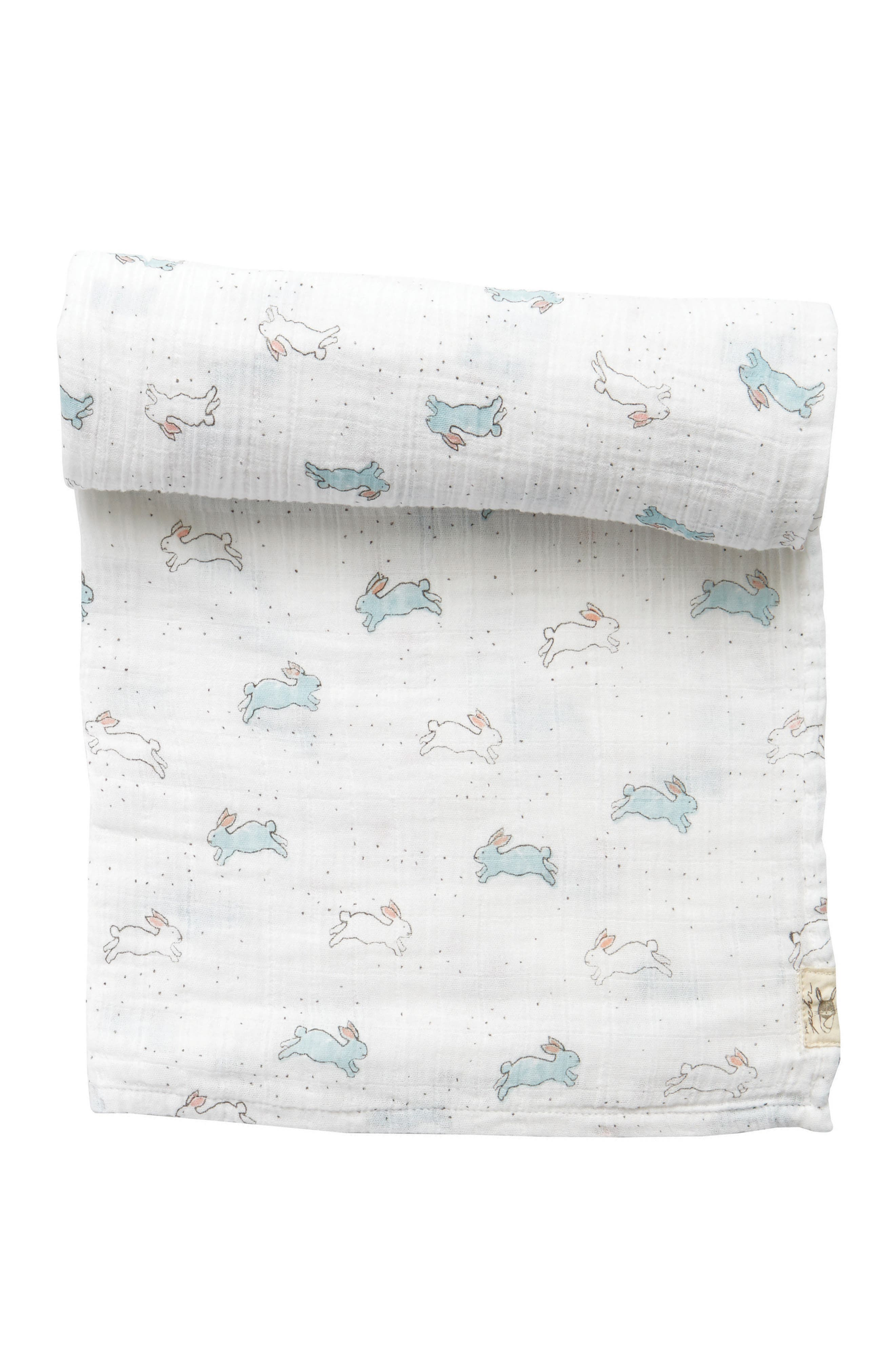 Main Image - Petit Pehr Tiny Bunny Swaddle Blanket