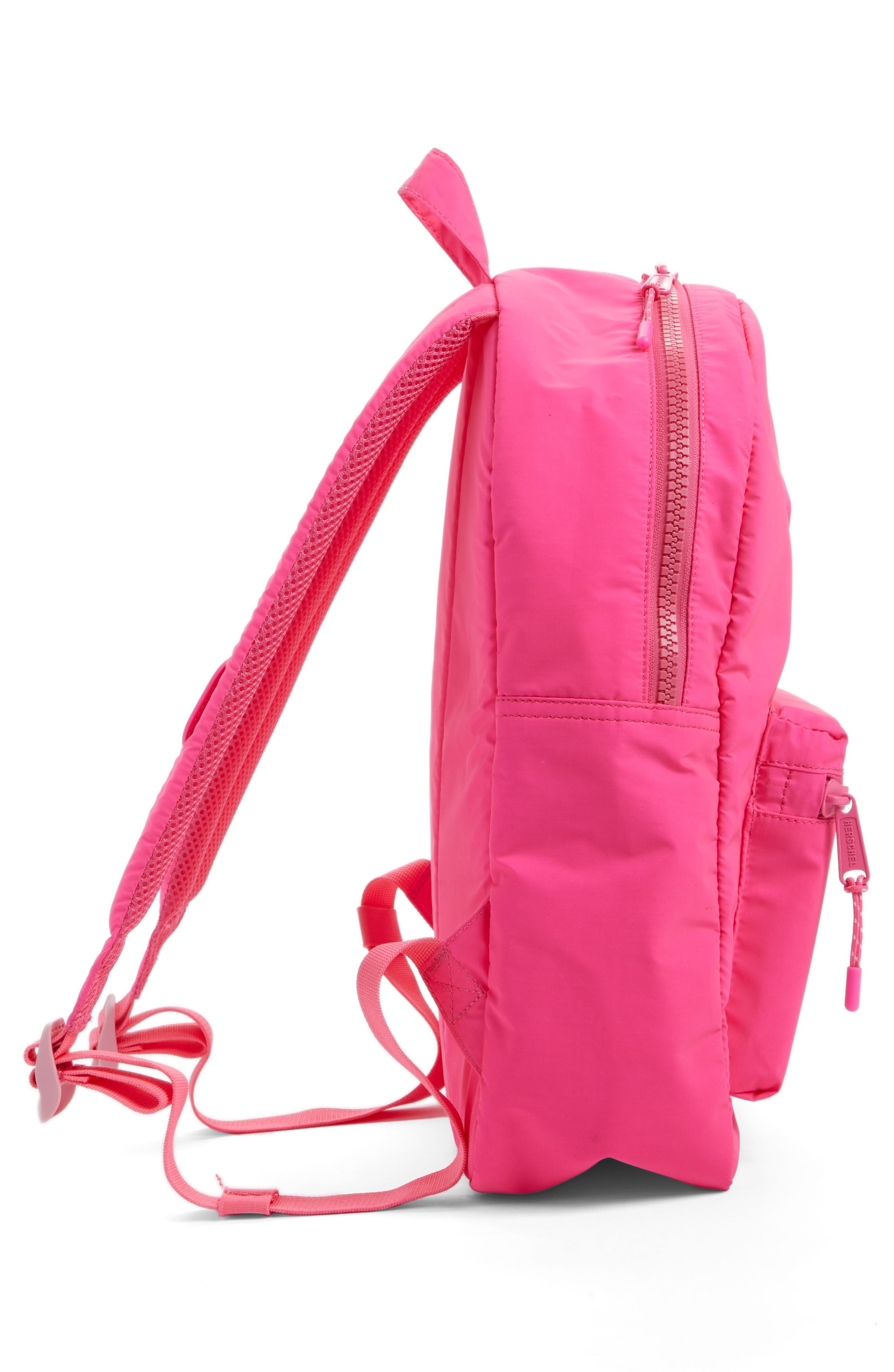 Heritage Backpack,                             Alternate thumbnail 4, color,                             Neon Pink Rubber