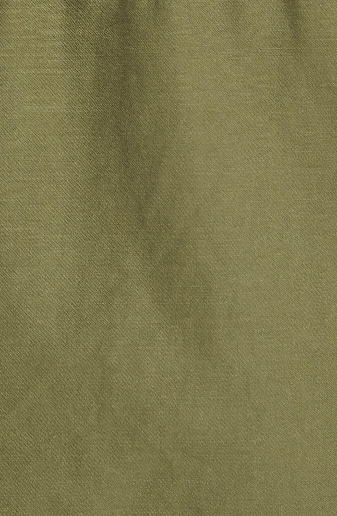 Jameson Field Jacket,                             Alternate thumbnail 6, color,                             Climbing Ivy