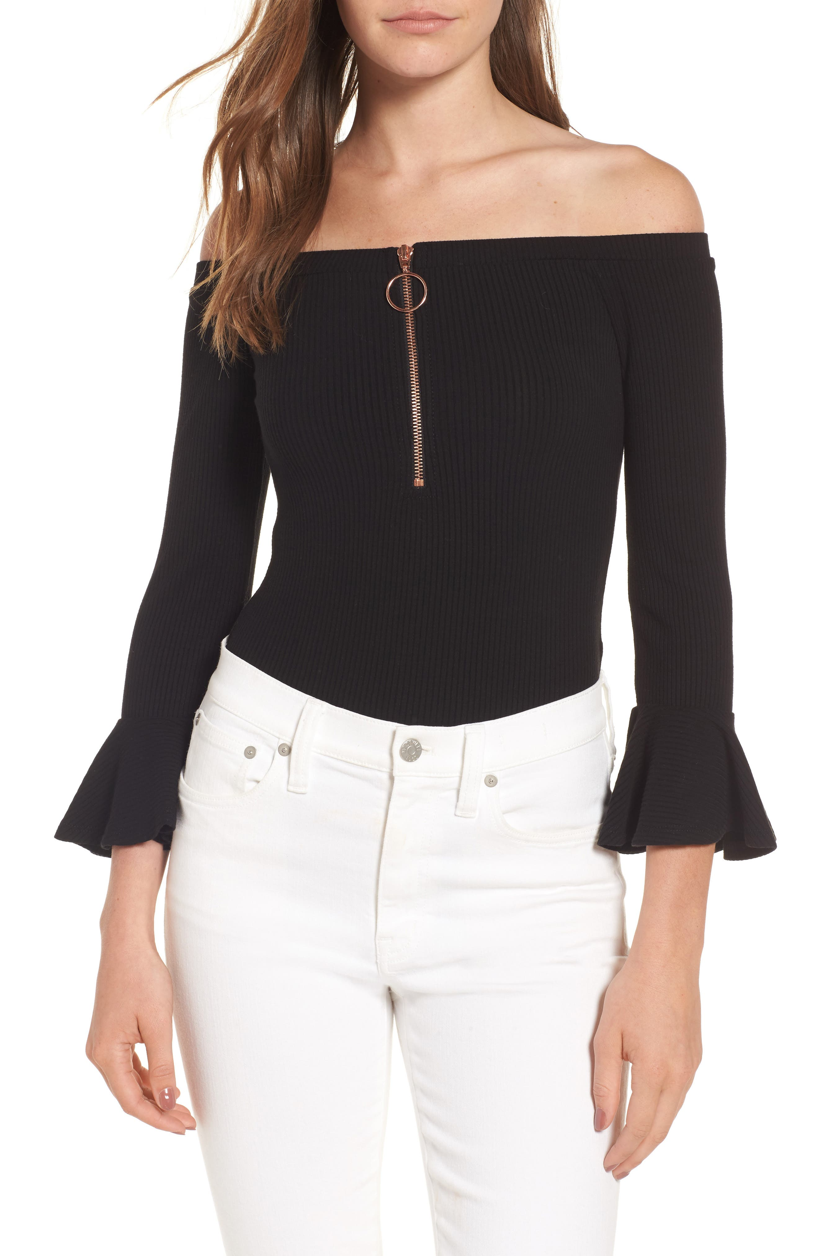 Willow & Clay Off the Shoulder Bodysuit