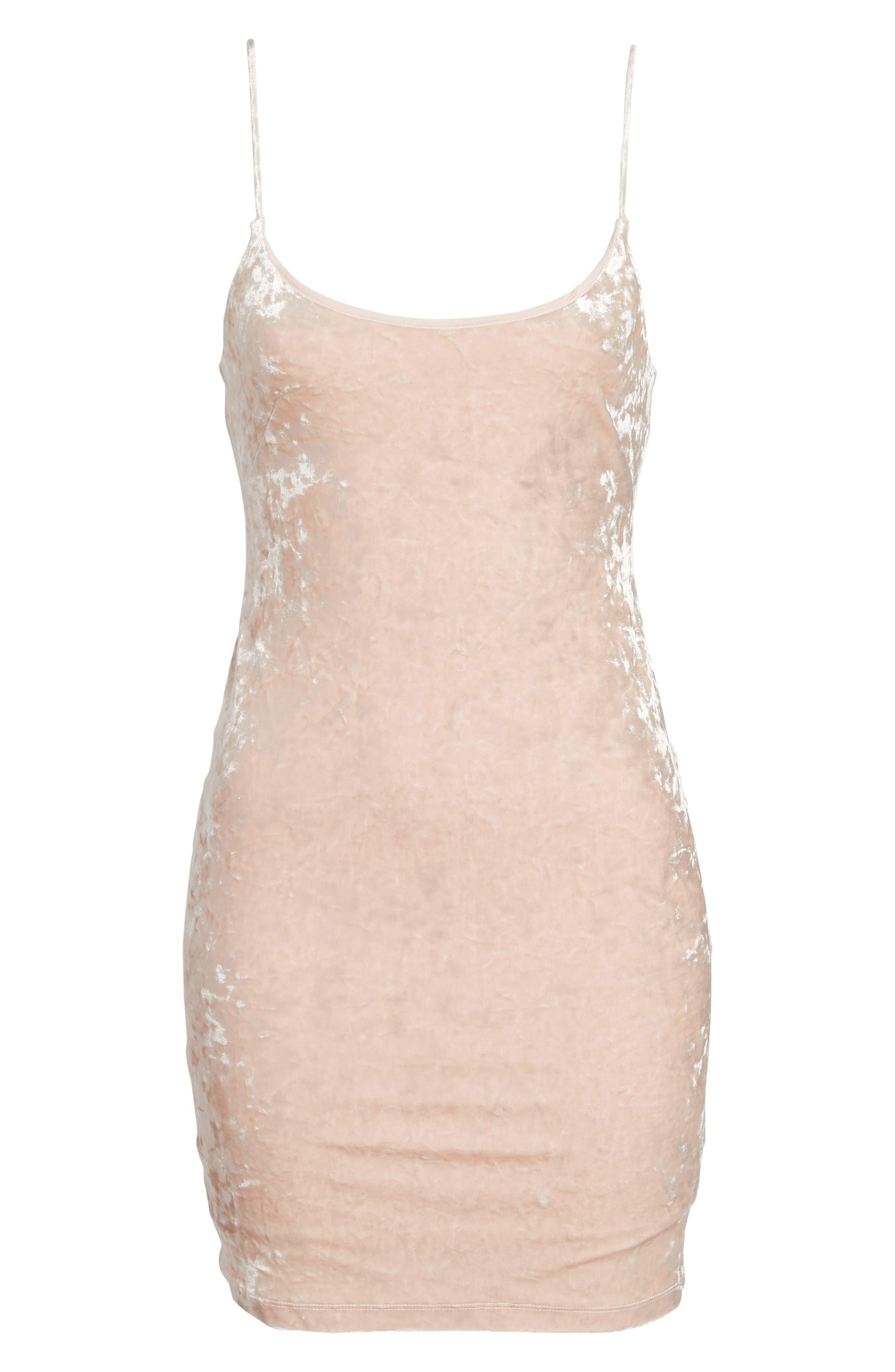 Brooklyn Body-Con Dress,                             Alternate thumbnail 6, color,                             Blush