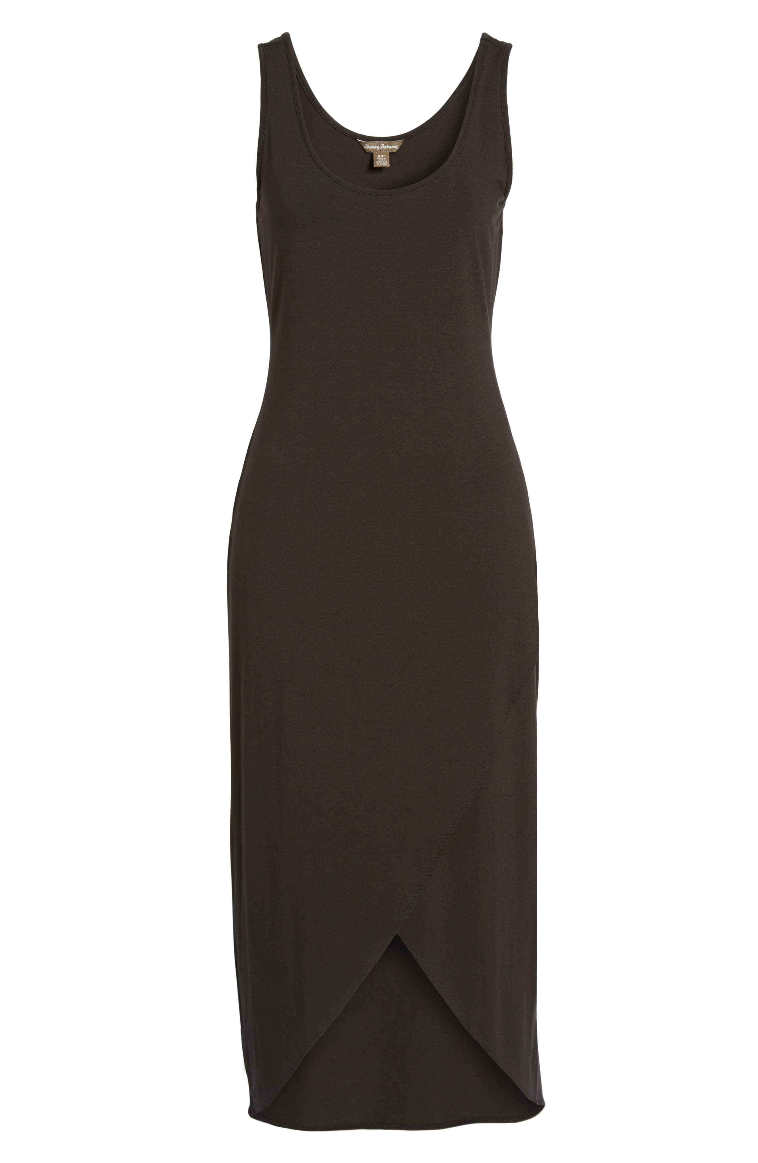 Tambour Maxi Dress,                             Main thumbnail 1, color,                             Black